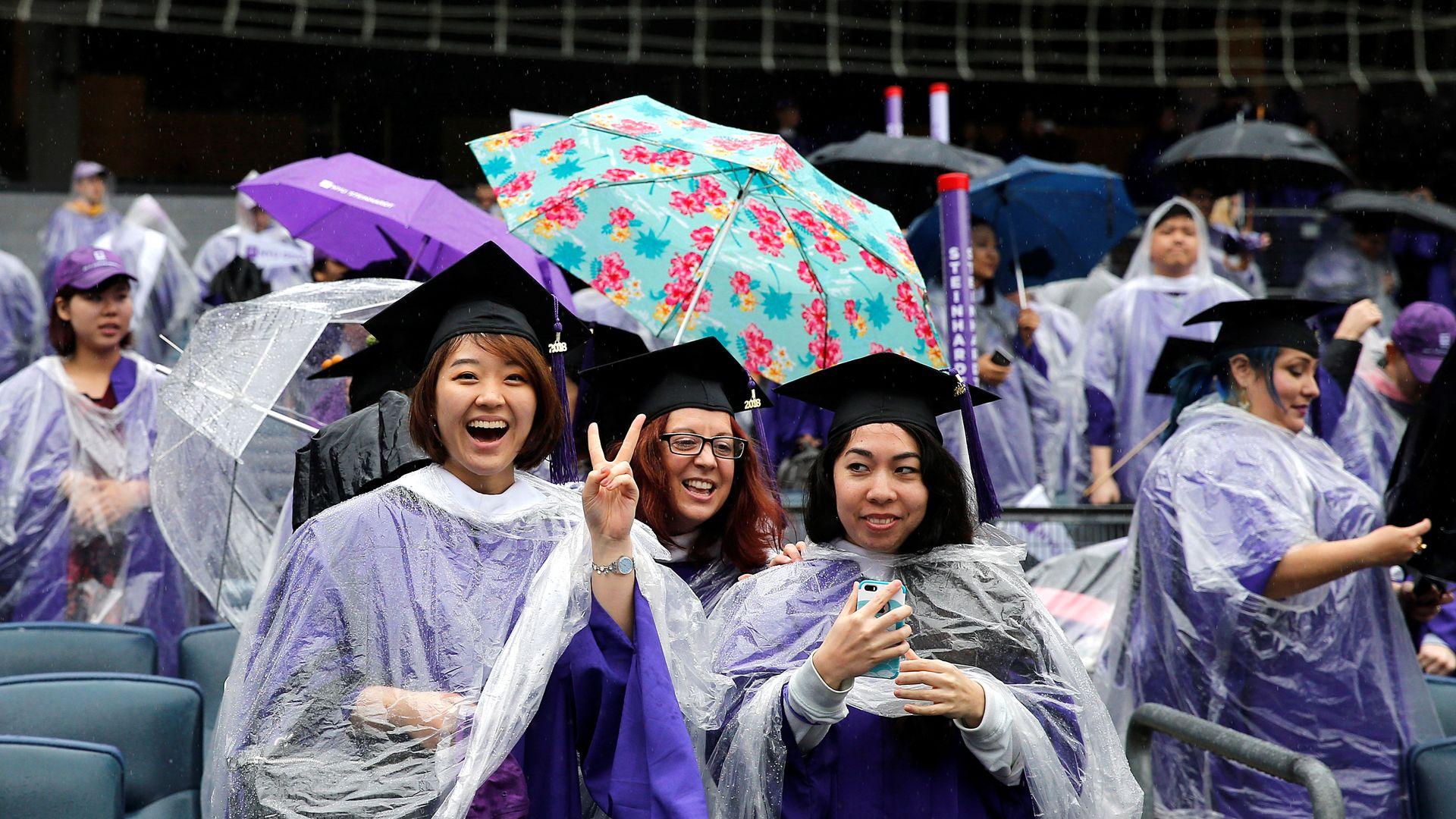 Graduation at NYU