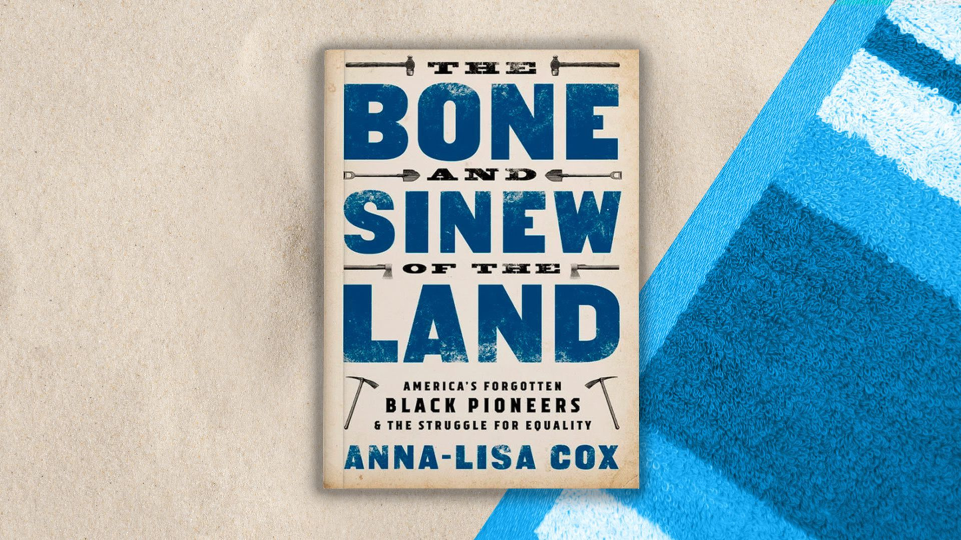 "Cover of ""The Bone and Sinew of the Land: America's Forgotten Black Pioneers and the Struggle for Equality,"" by Anna-Lisa Cox"