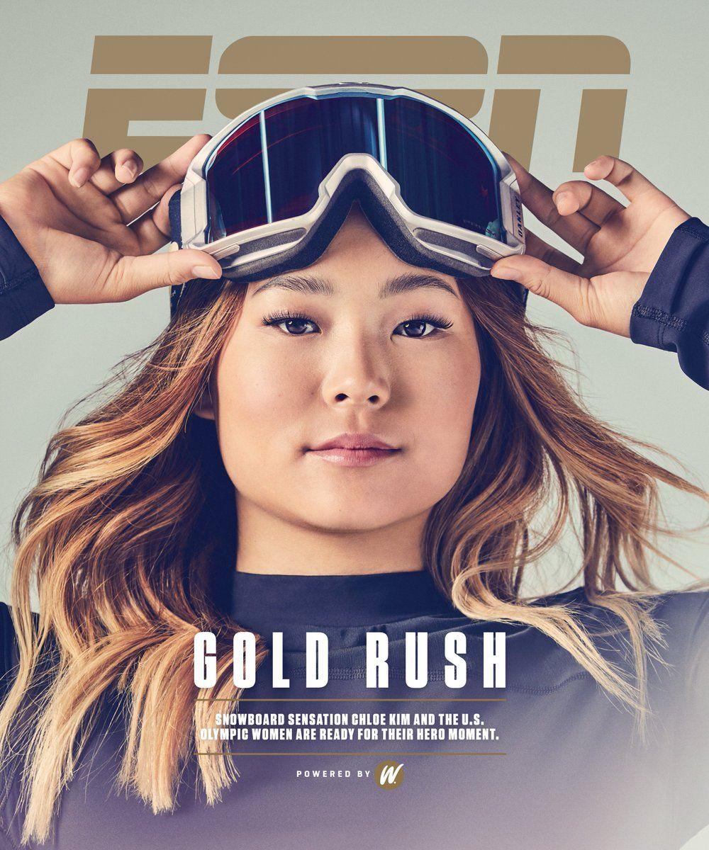 ESPN Magazine cover, 2018
