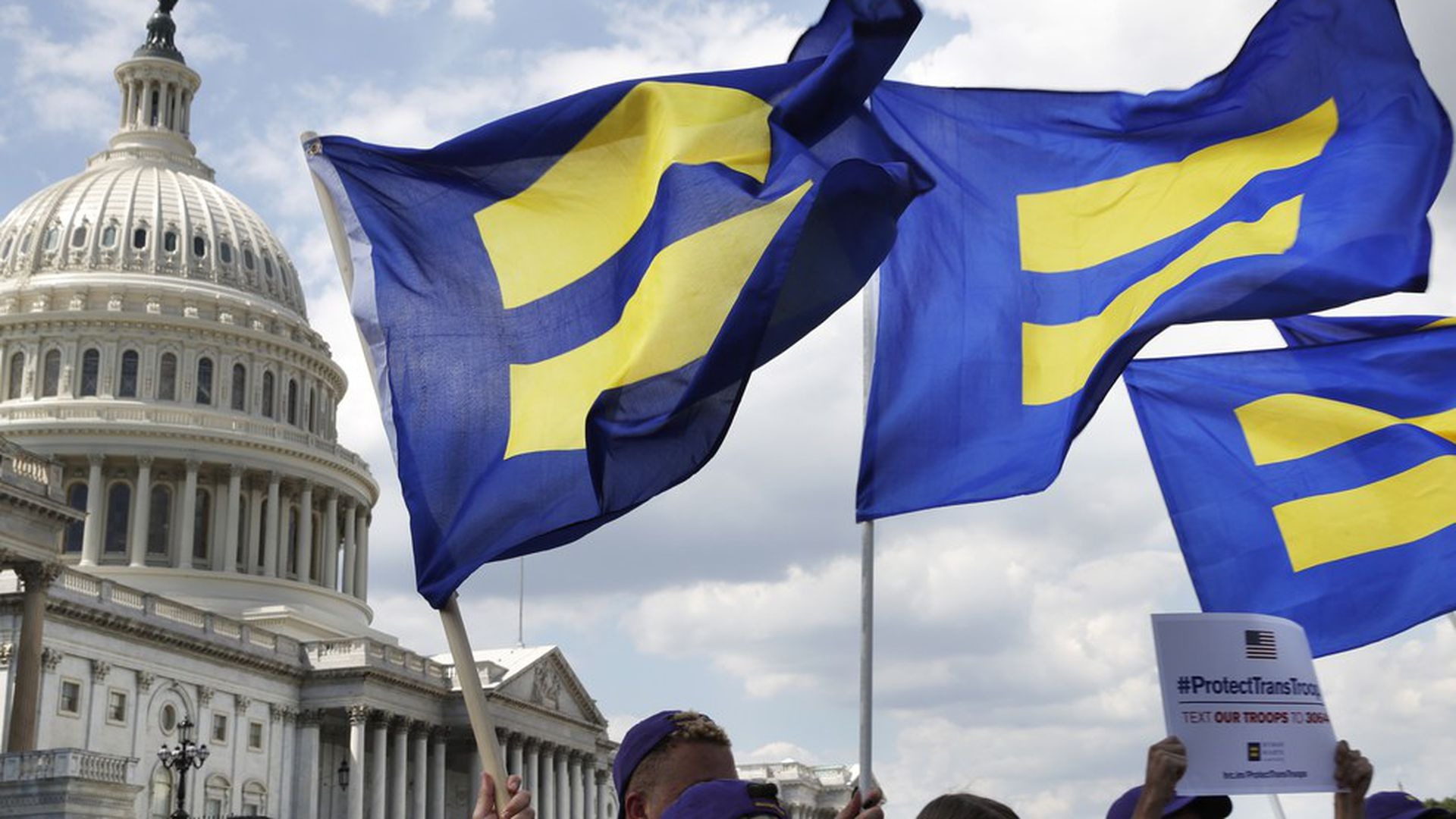 Civil rights commission condemns ban on transgender troops