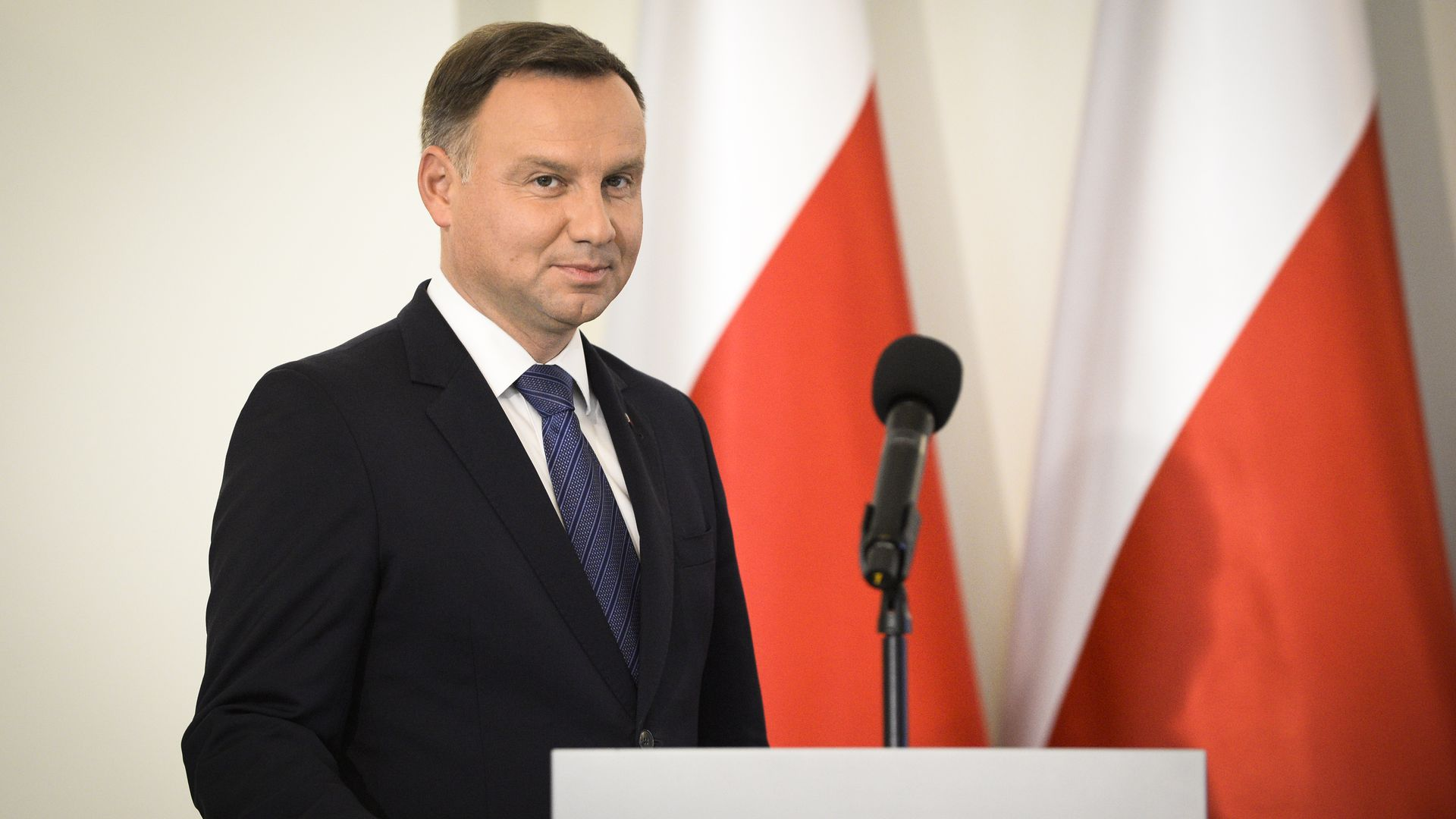 President Duda announces recipients of the Order of the White Eagle at at the Presidential Palace in Warsaw, Poland on September 12, 2018.