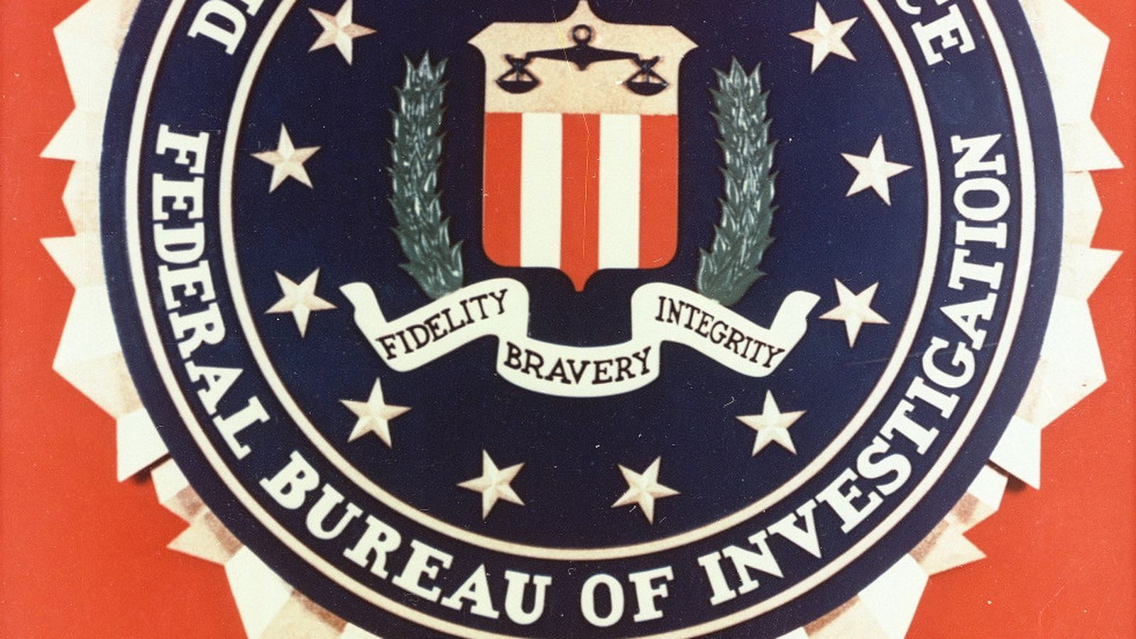 Behind the FBI agent's