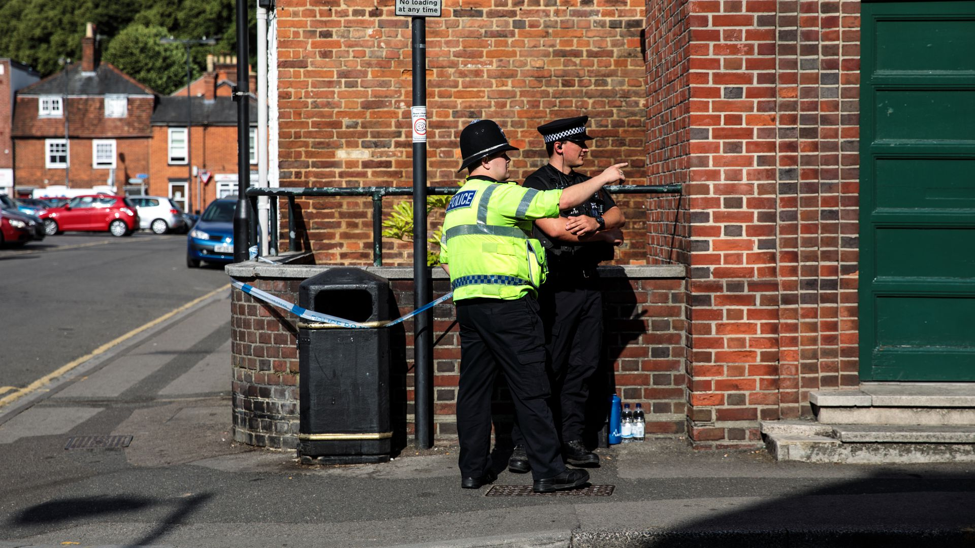 Two UK police officers