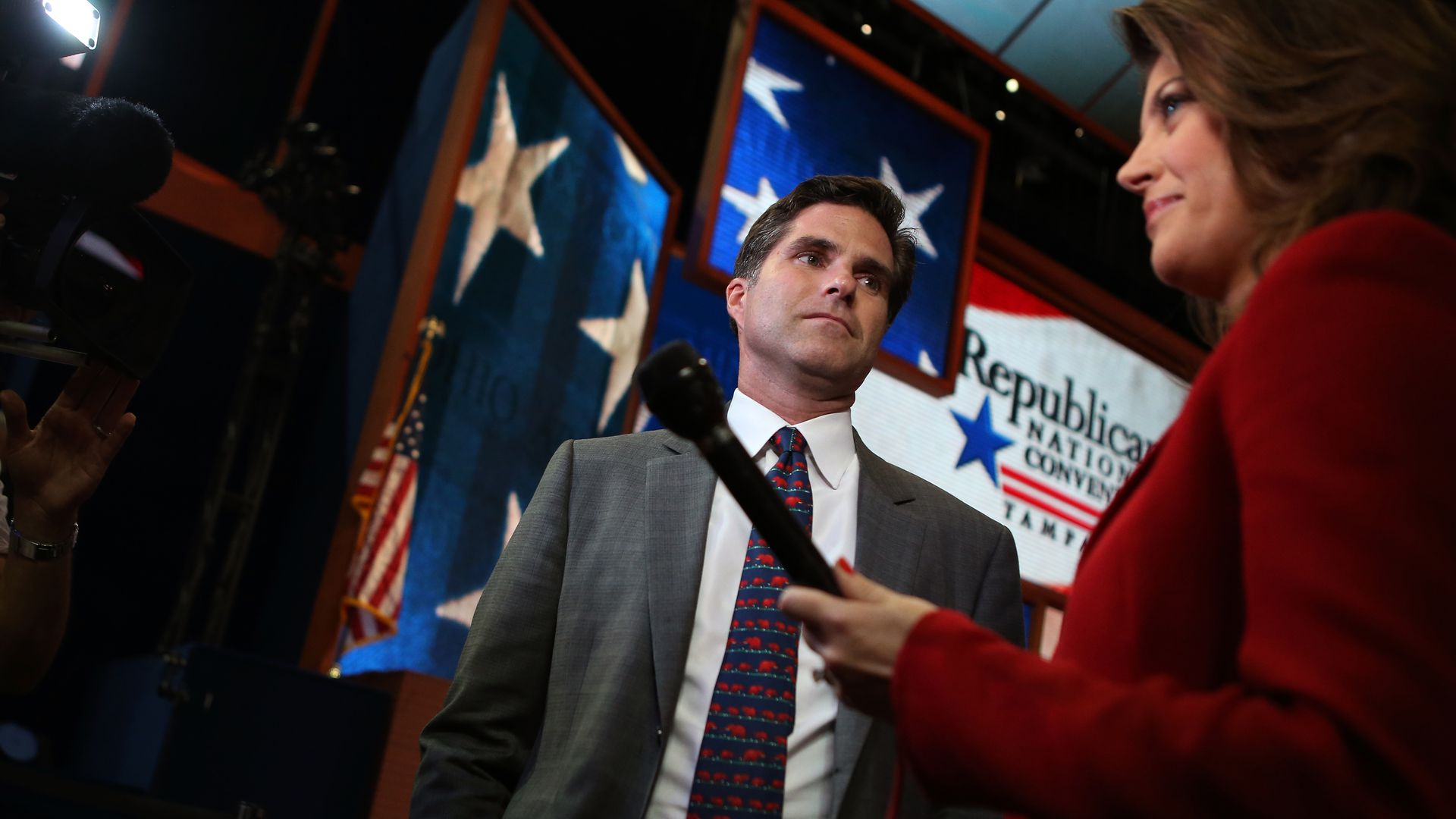 Tagg Romney at the 2012 Republican National Convention.