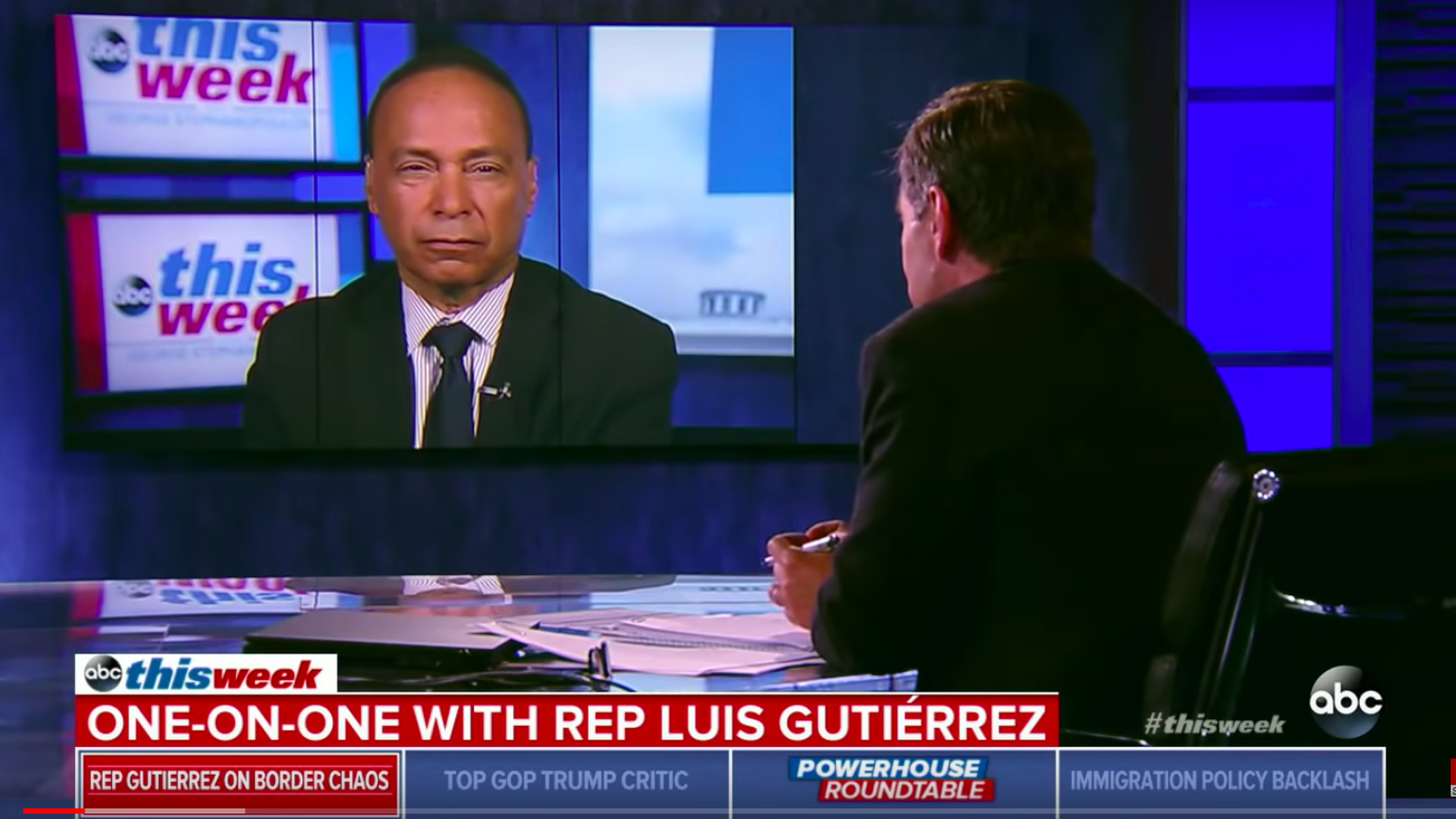 Rep. Luis Gutierrez (D-IL) on ABC's This Week