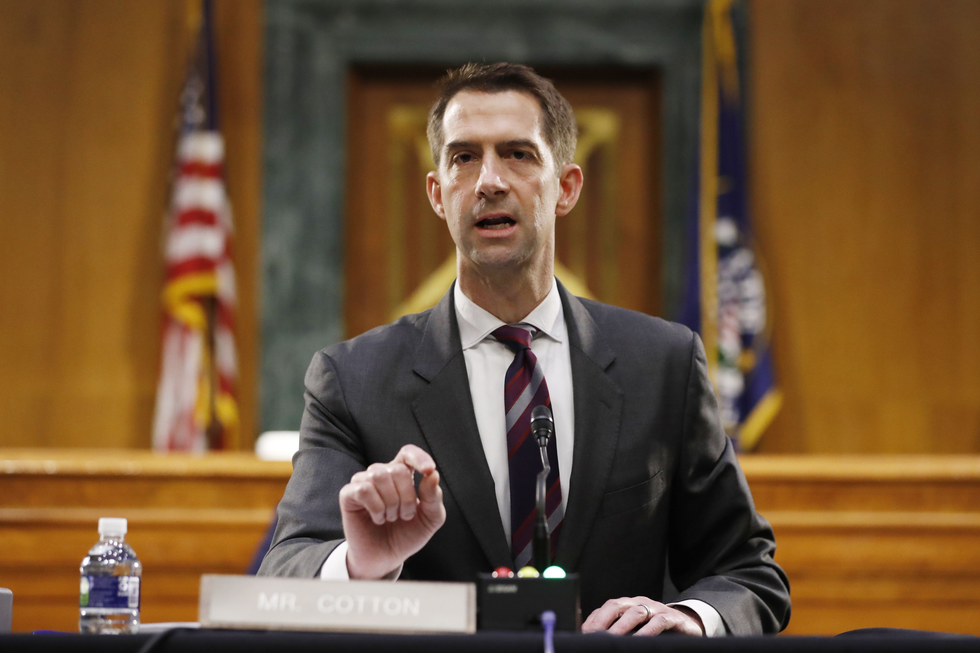 NYT employees say running Tom Cotton op-ed put black staff in danger