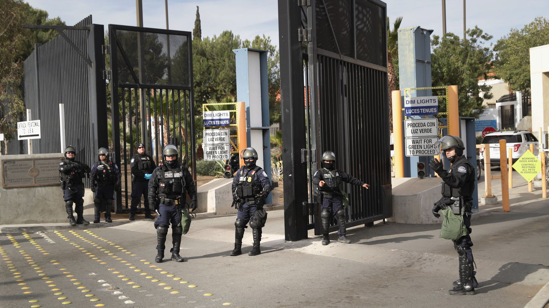Customs border and protection