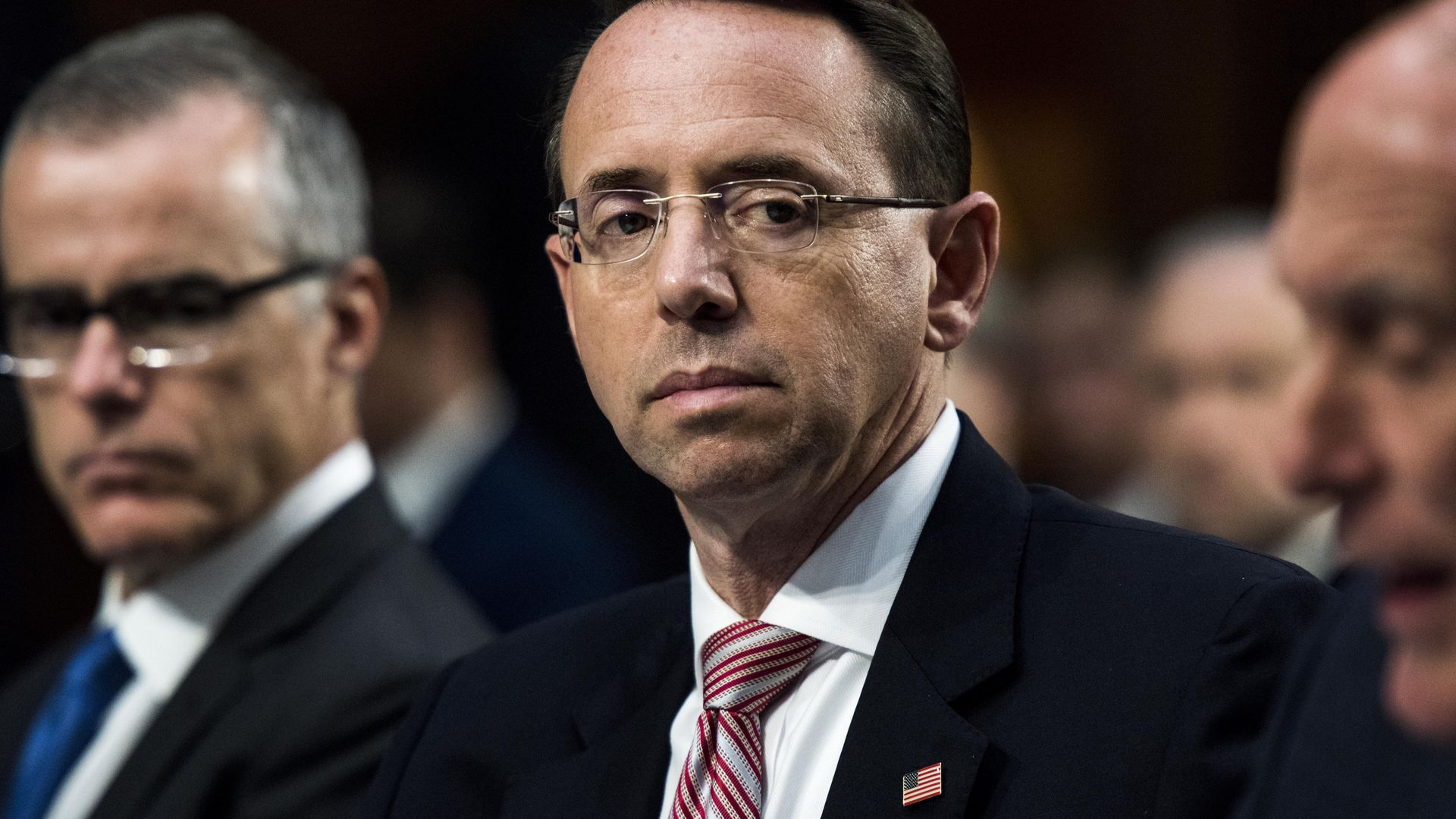 Andy McCabe and Rod Rosenstein
