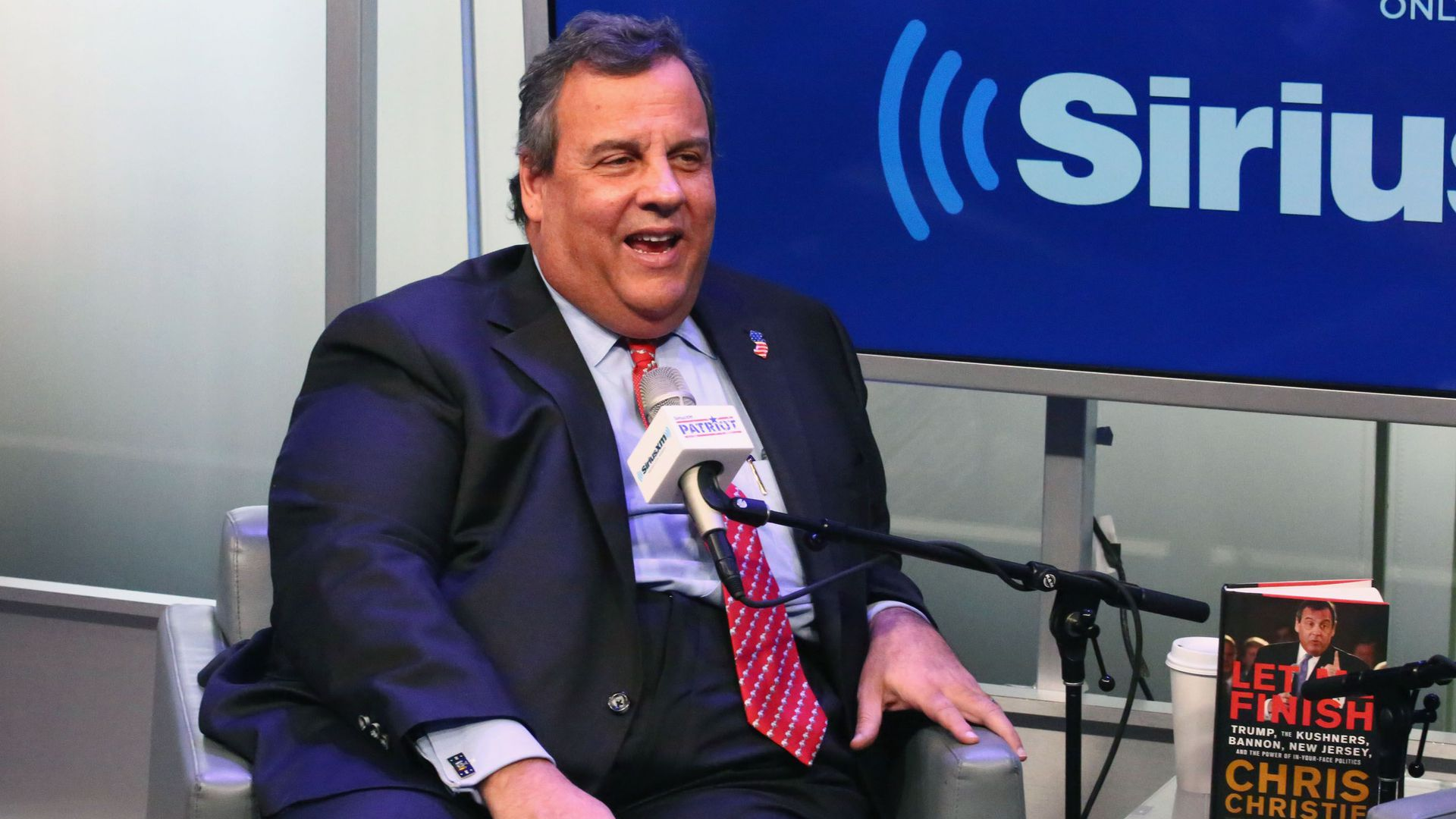 chris christie on sirius xm event