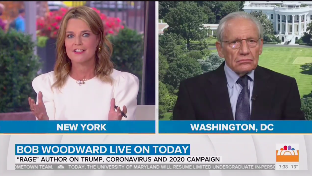 Bob Woodward says it wasn't Trump's idea to restrict travel from China thumbnail