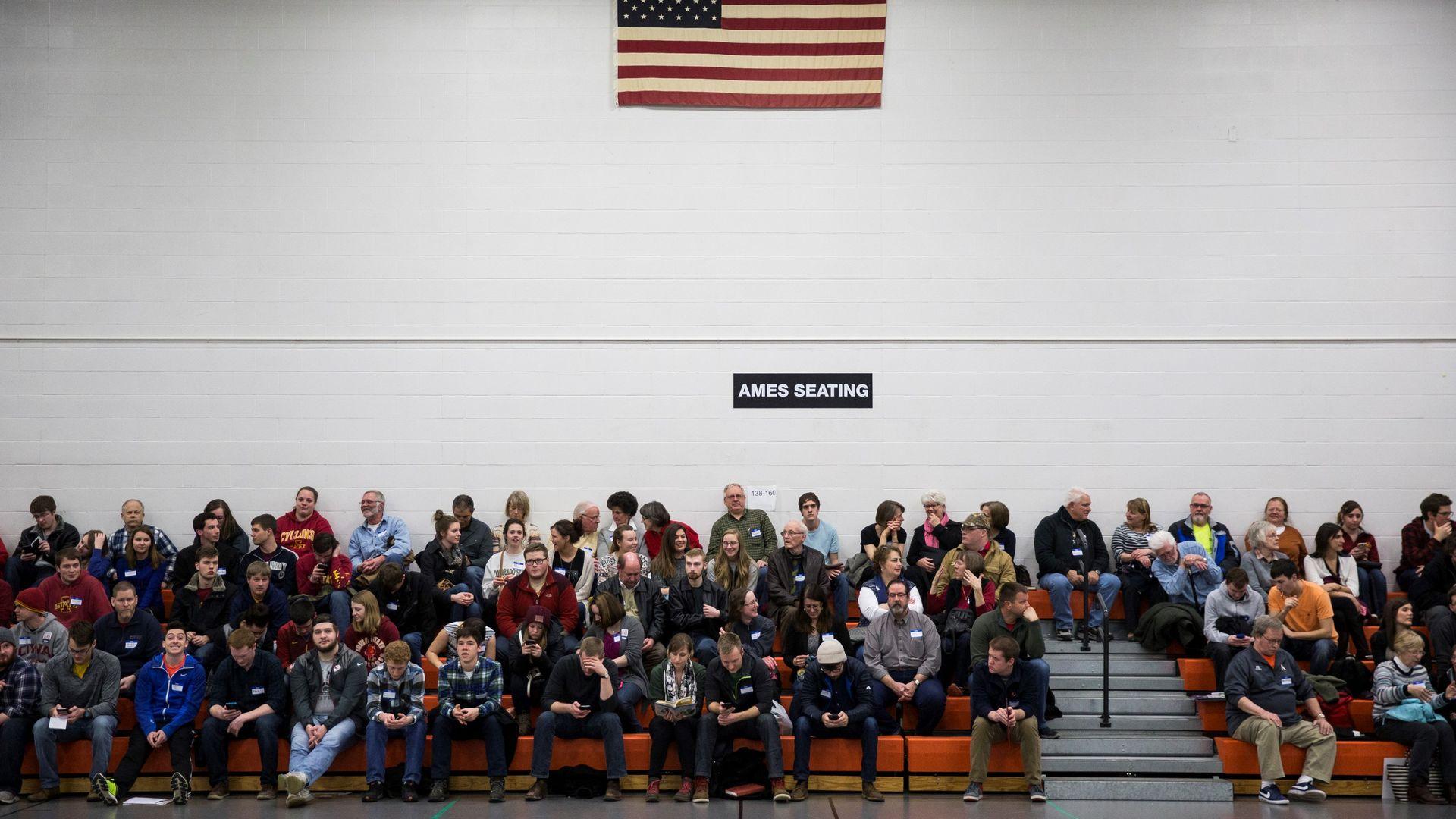 Iowa Caucus voters in 2016
