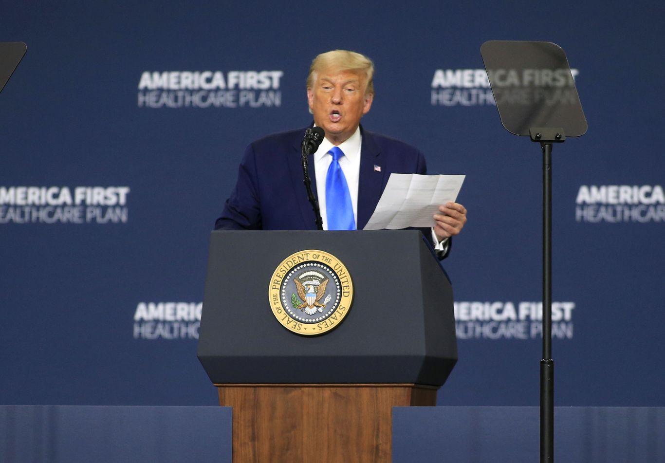 Trump unveils health care vision, but offers little detail