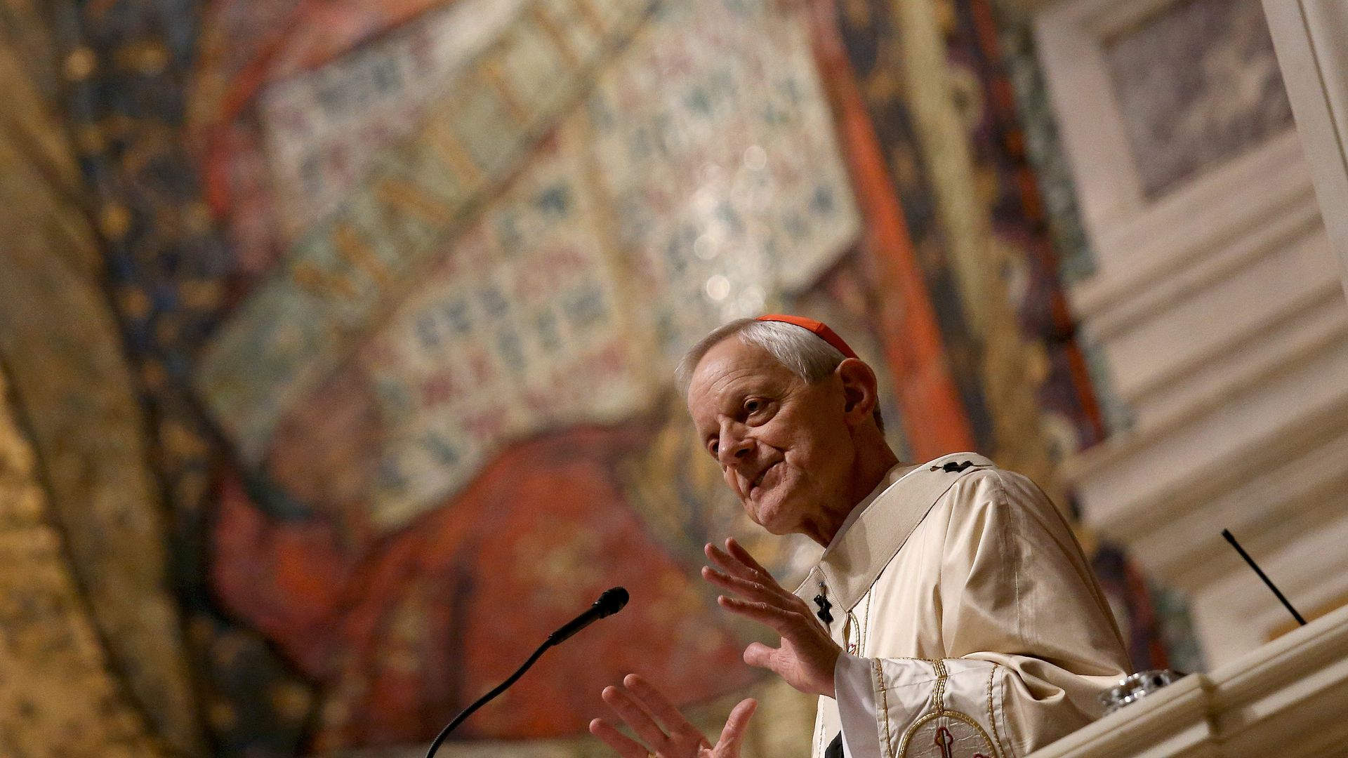 Cardinal Donald Wuerl, archbishop of Washington. Photo: Win McNamee/Getty Images