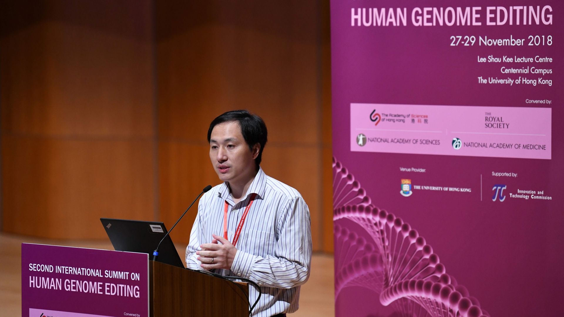 Chinese scientist who edited embryos