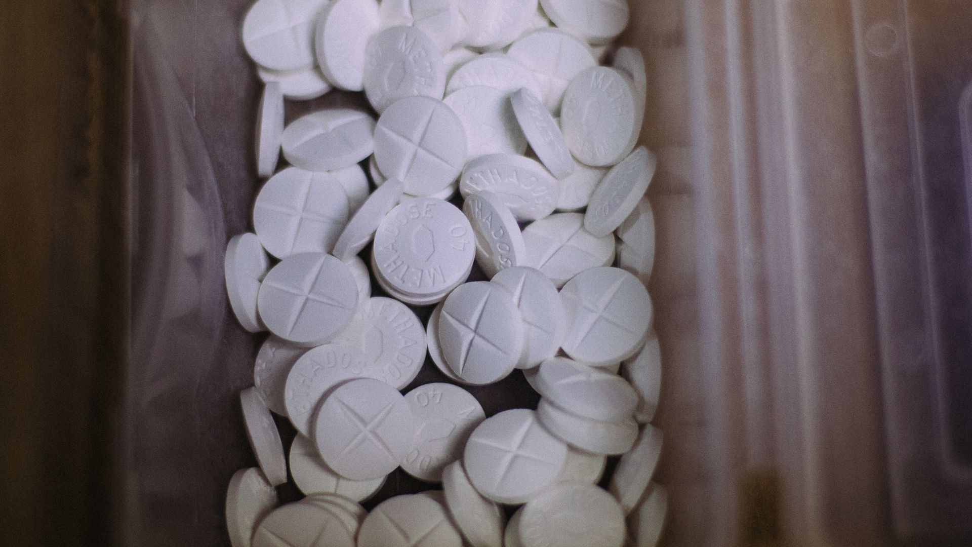 Methadose tablets, the concentrated form of Methadone.