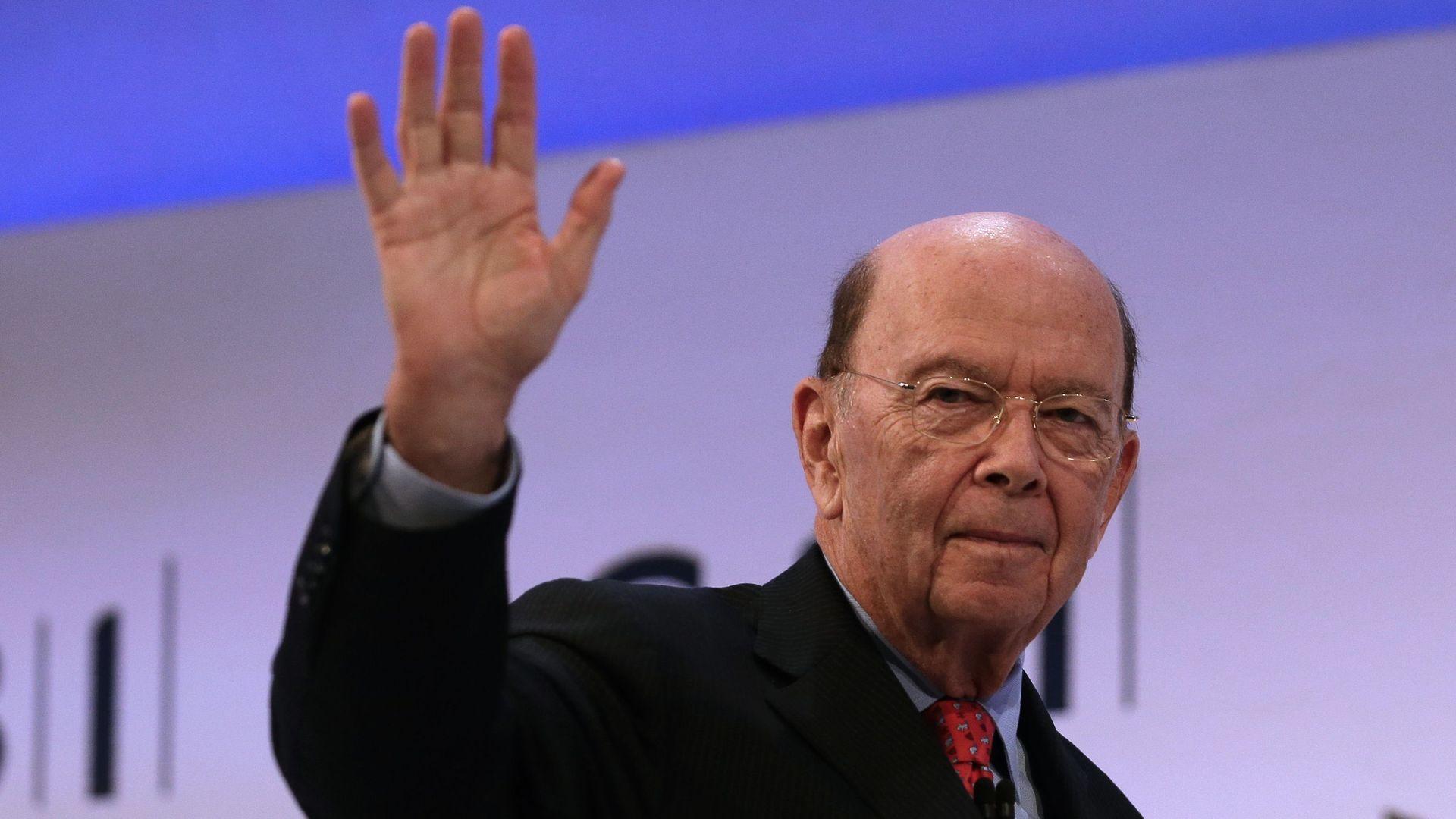 U.S. Commerce Secretary Wilbur Ross.