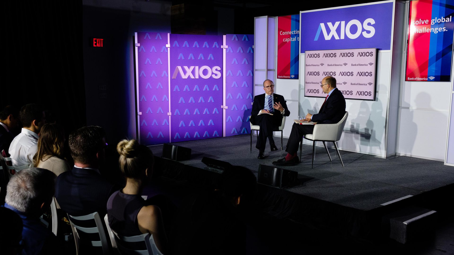 Mike Allen interviews National Economic Director Larry Kudlow.