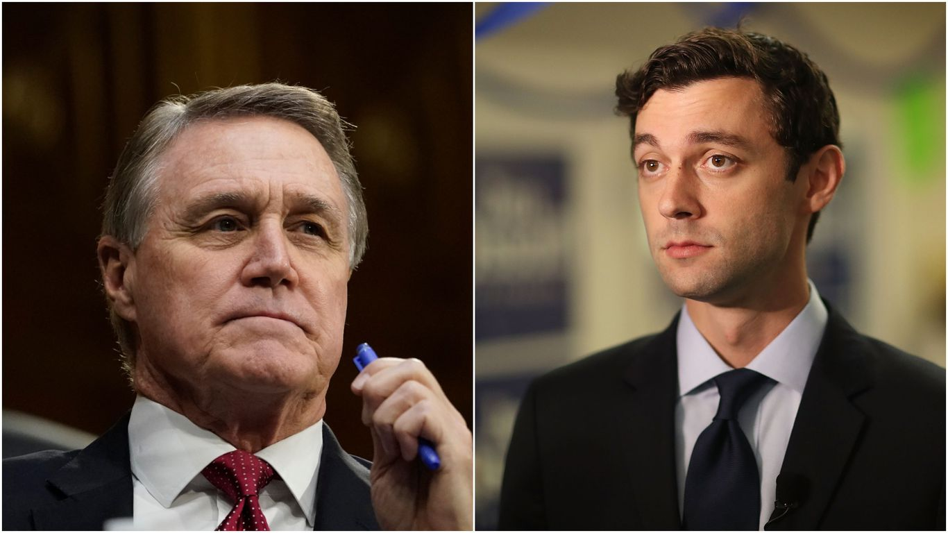 Georgia Sen. Perdue pulls out of final debate to rally with Trump thumbnail