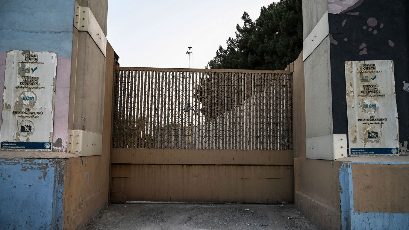 The U.S. expects to have all American embassy personnel out of Afghanistan by Monday morning, aside from the staff who will remain to process visas.