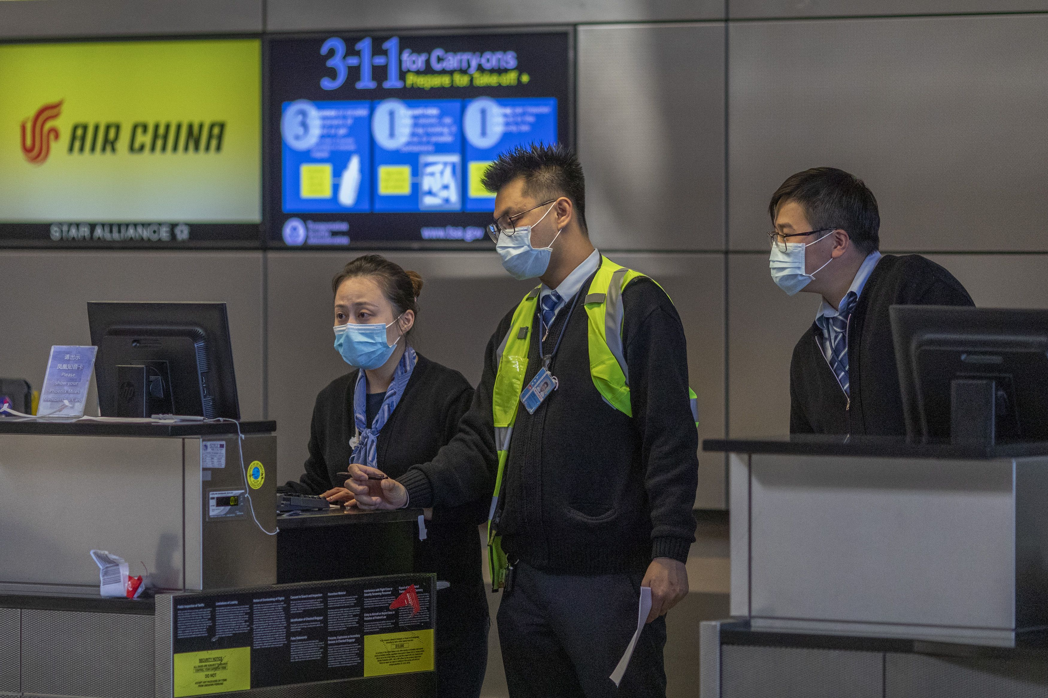 Direct flights from China brought 40k to U.S. after Trump coronavirus travel ban
