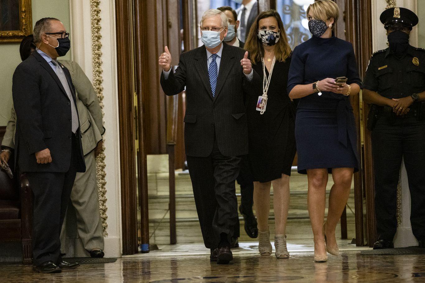 McConnell: Confirming Amy Coney Barrett will help GOP retain Senate thumbnail