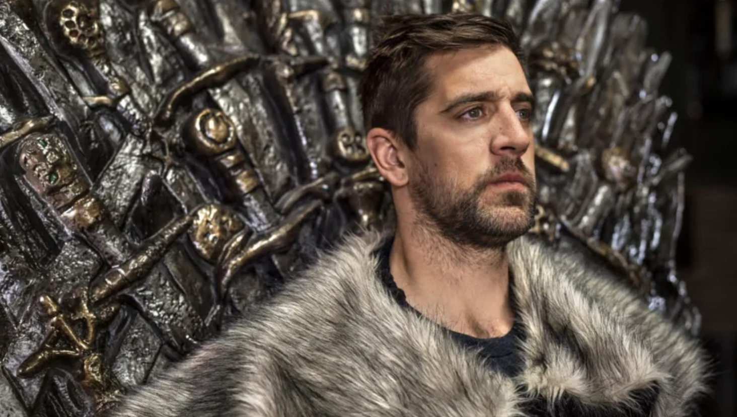 Aaron Rodgers in GOT attire