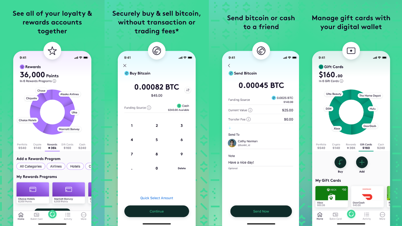 Bakkt digital wallet app launches to help bring crypto to consumers