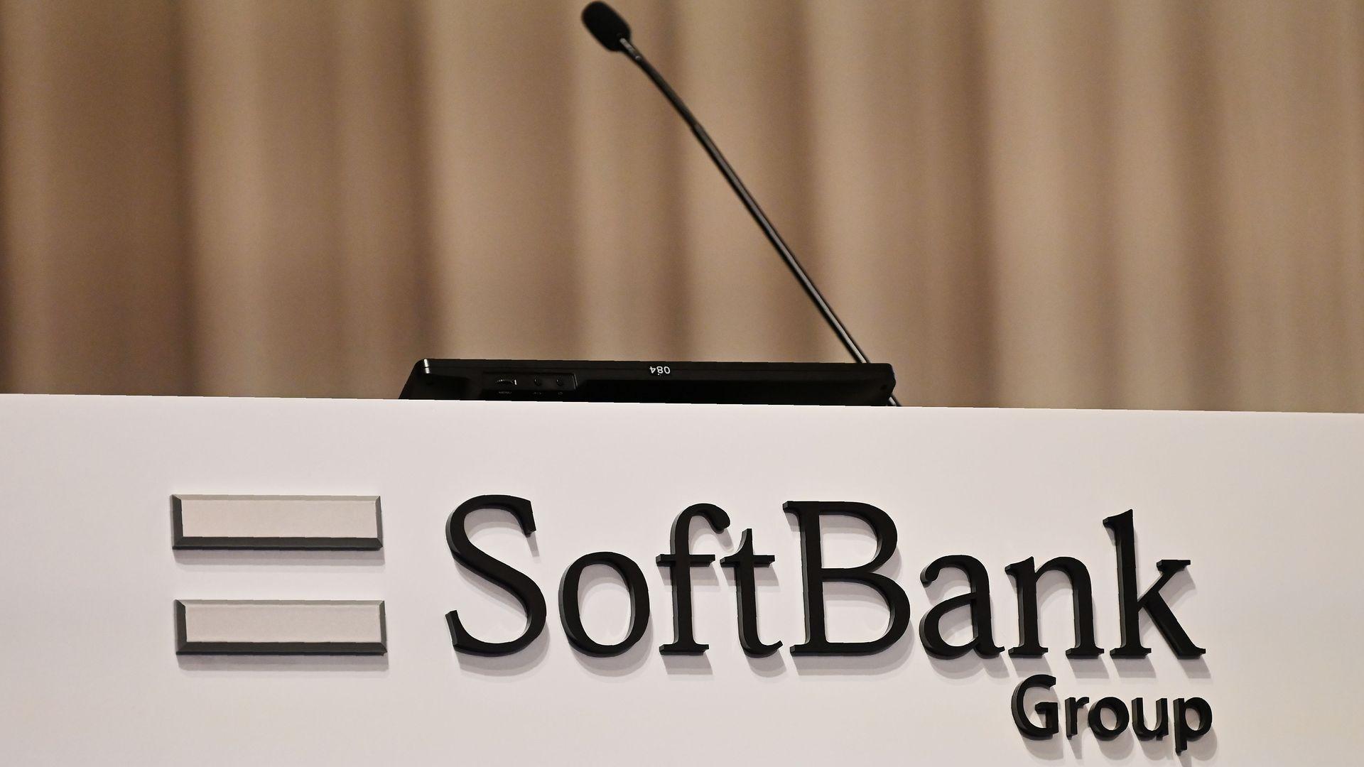 The SoftBank Group logo.