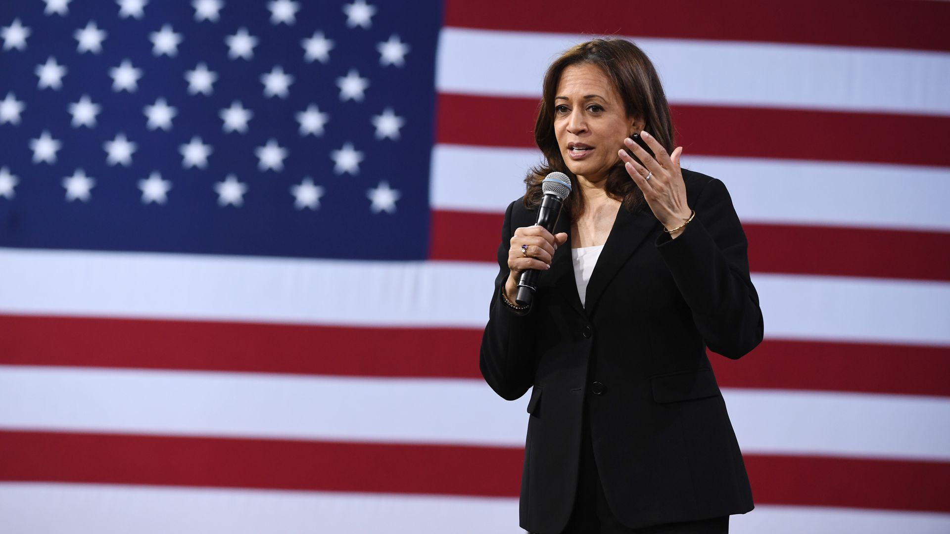 Democratic presidential candidate, Sen. Kamala Harris (D-Calif.)