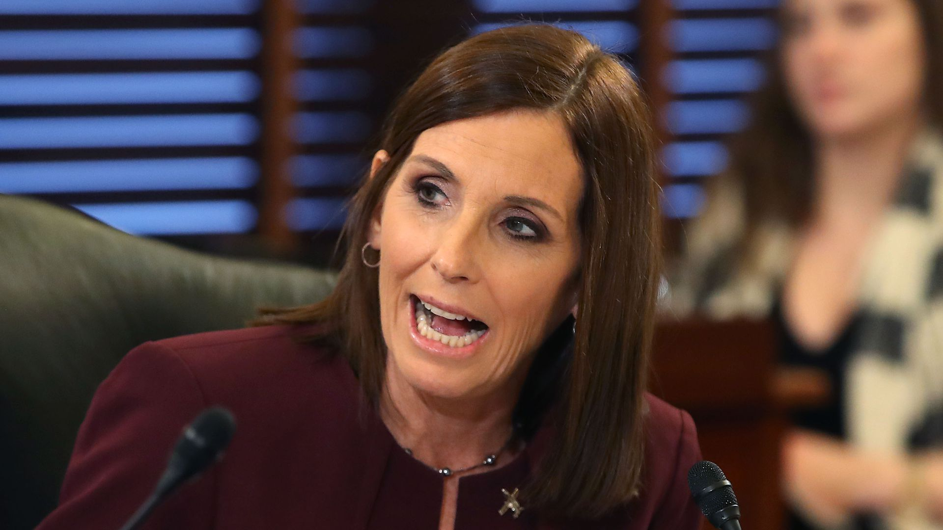 Sen. Martha McSally says she hopes abuse survivors can find some healing in their own lives.