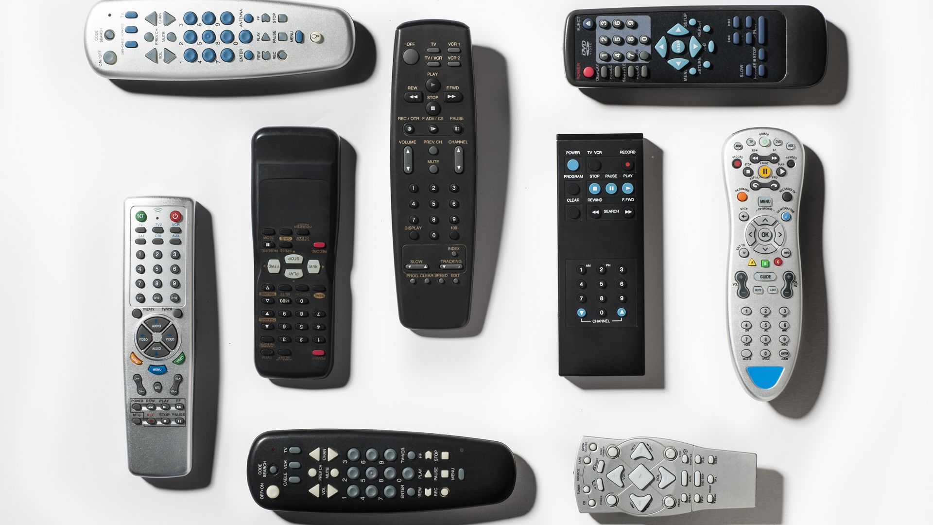 Cable TV remote controls