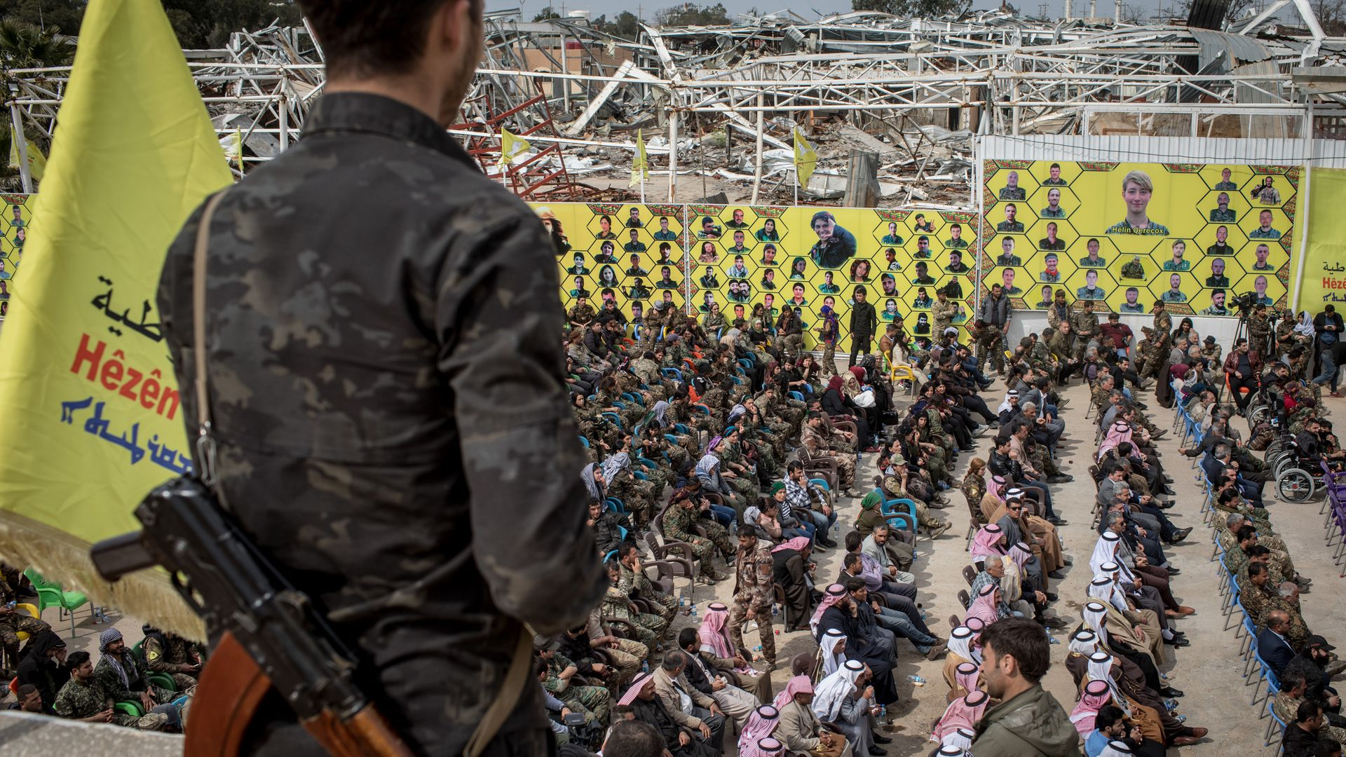 Syrian Democratic Forces declare ISIS eliminated from final stronghold