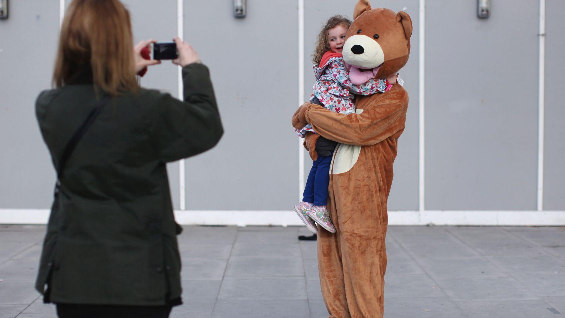 Fancy (enough) bear