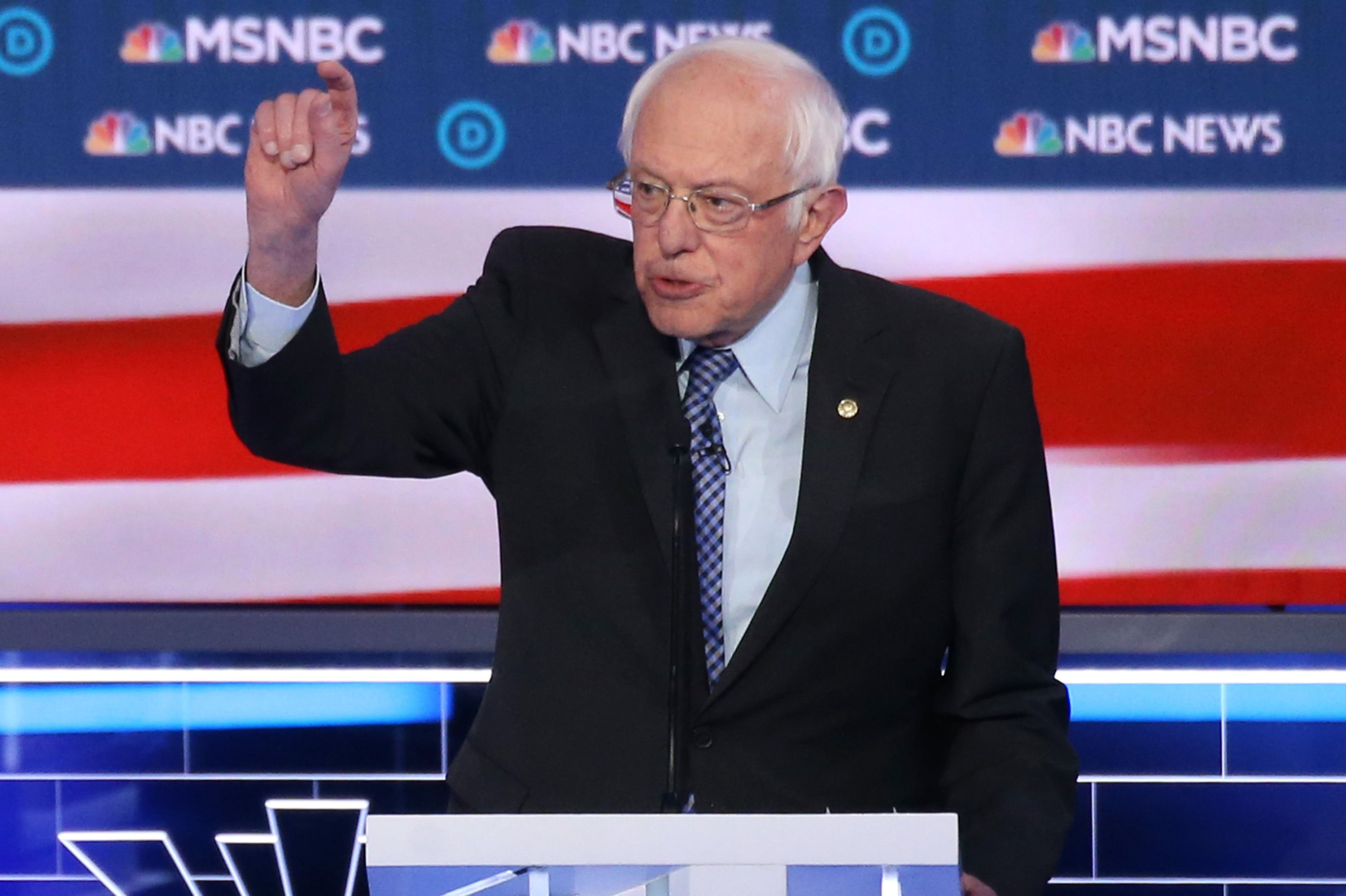 """Sanders defends socialism: """"We are living, in many ways, in a socialist society right now"""" - Axios"""