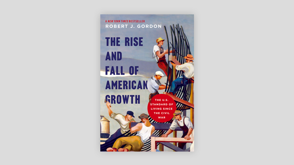 Cover of the book Rise and Fall of American Growth