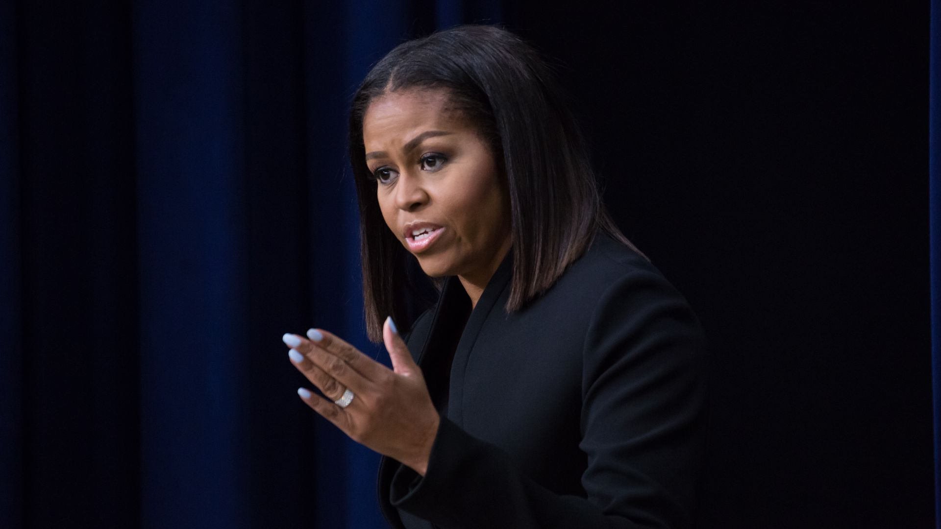 Former First Lady Michelle Obama. Photo: Cheriss May/NurPhoto via Getty Images