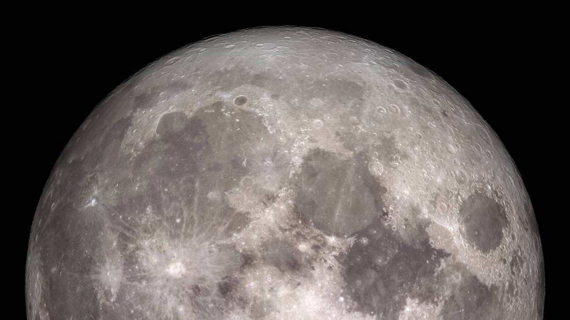 The Moon in full view