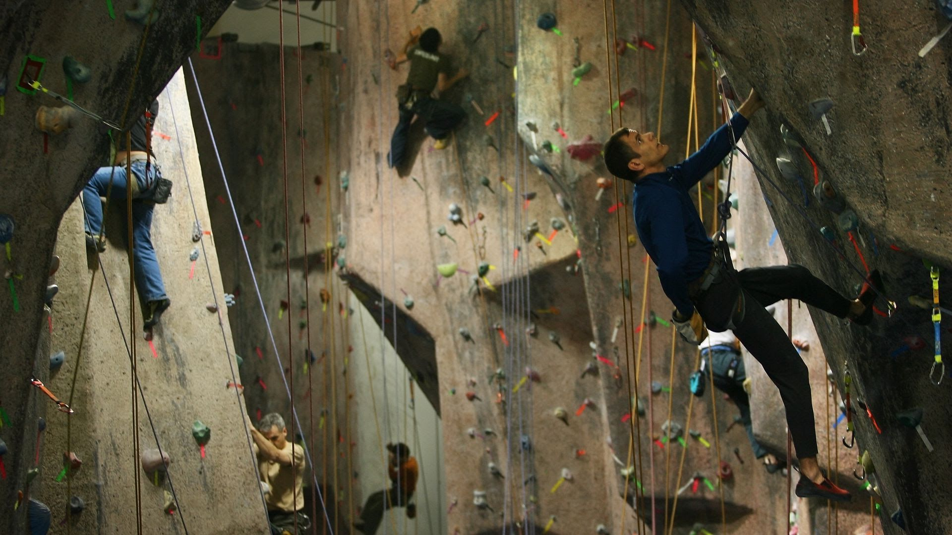 Rock climbing is having a moment
