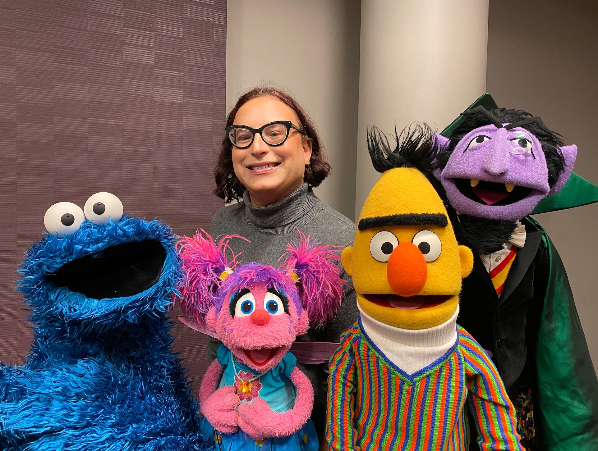 "50 years of ""Sesame Street"" diversity - Axios"