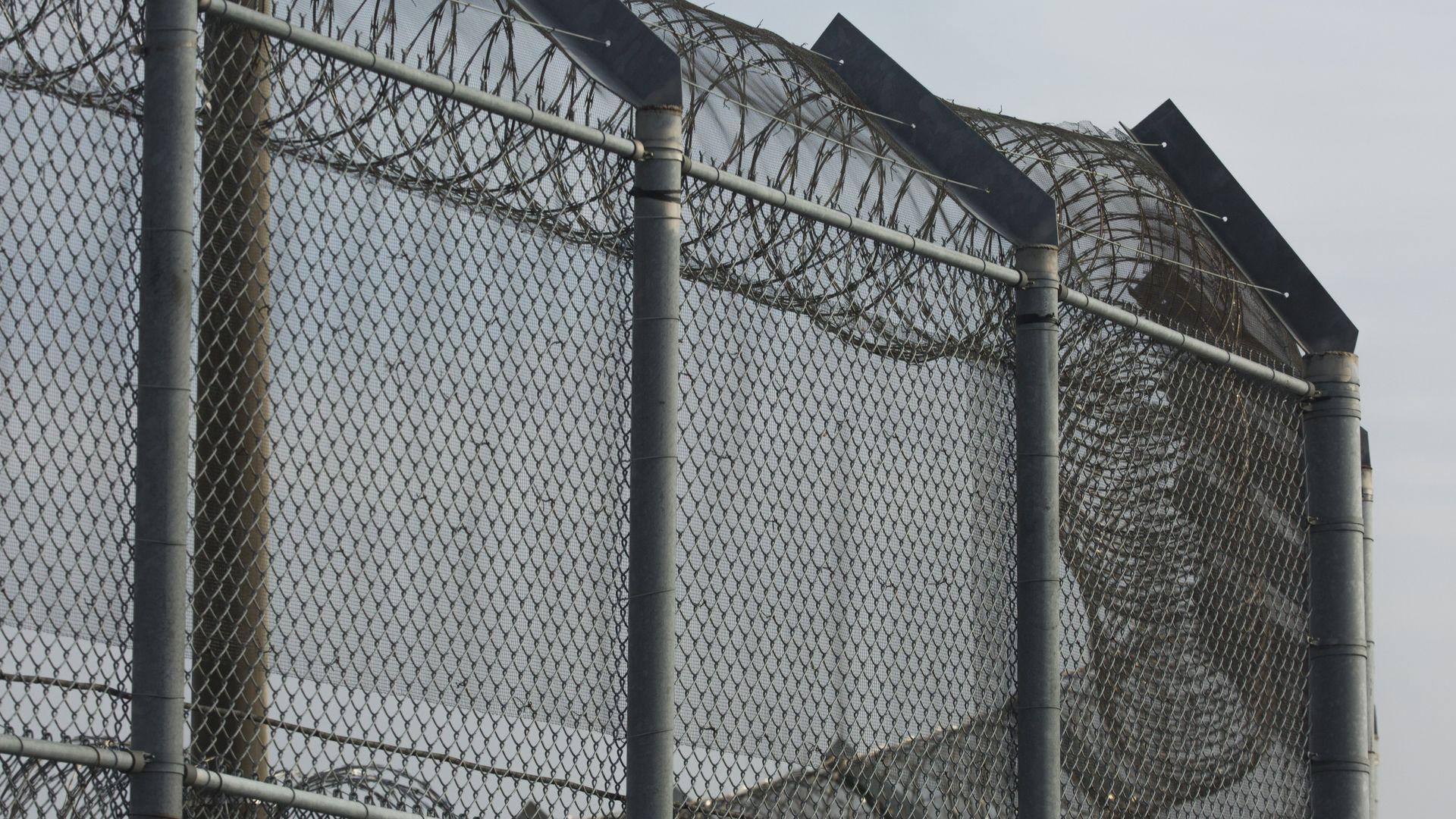 Jailhouse fence