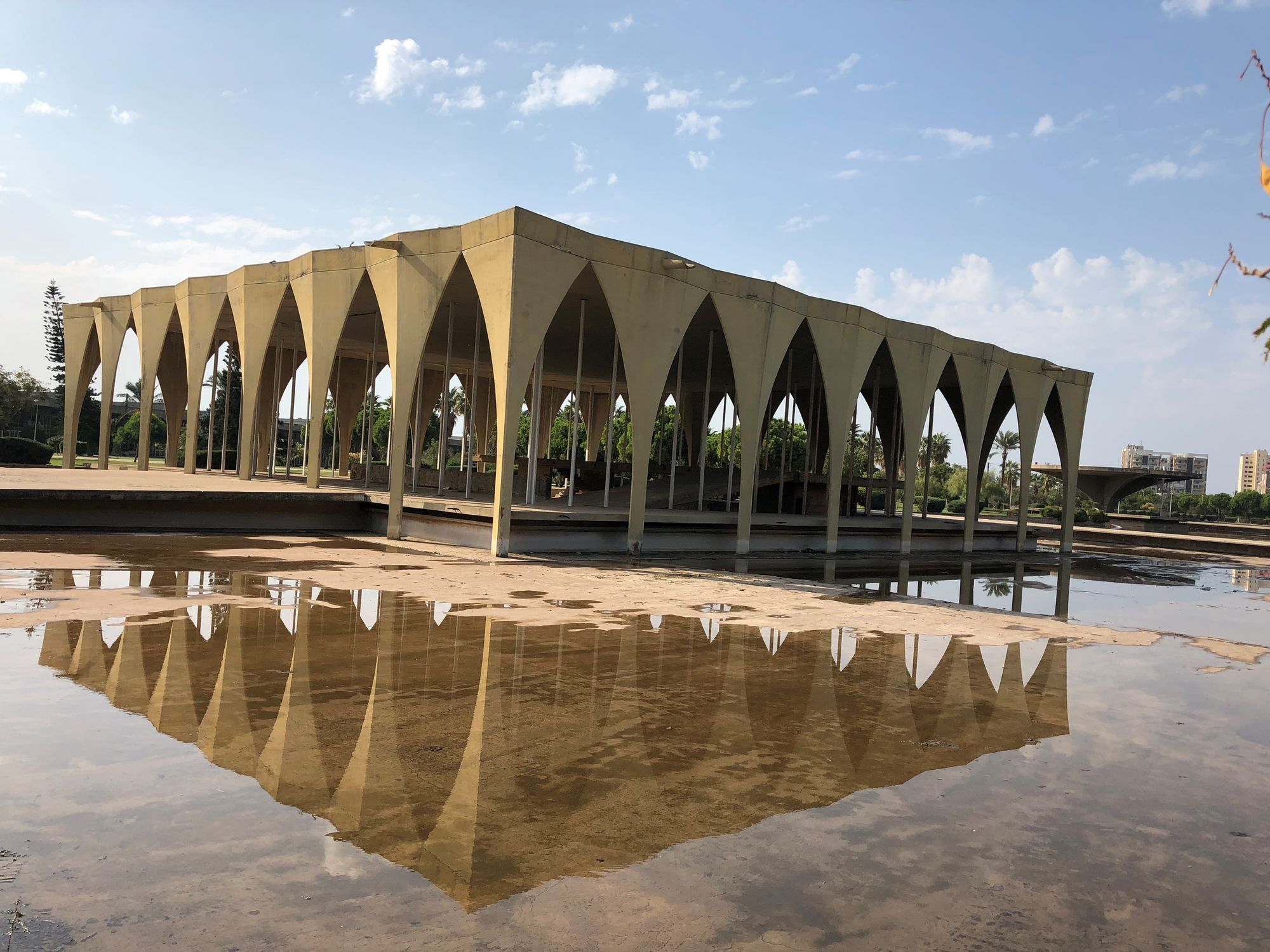 Oscar Niemeyer's Museum of Lebanon, Rashid Karami International Fairground Tripoli.