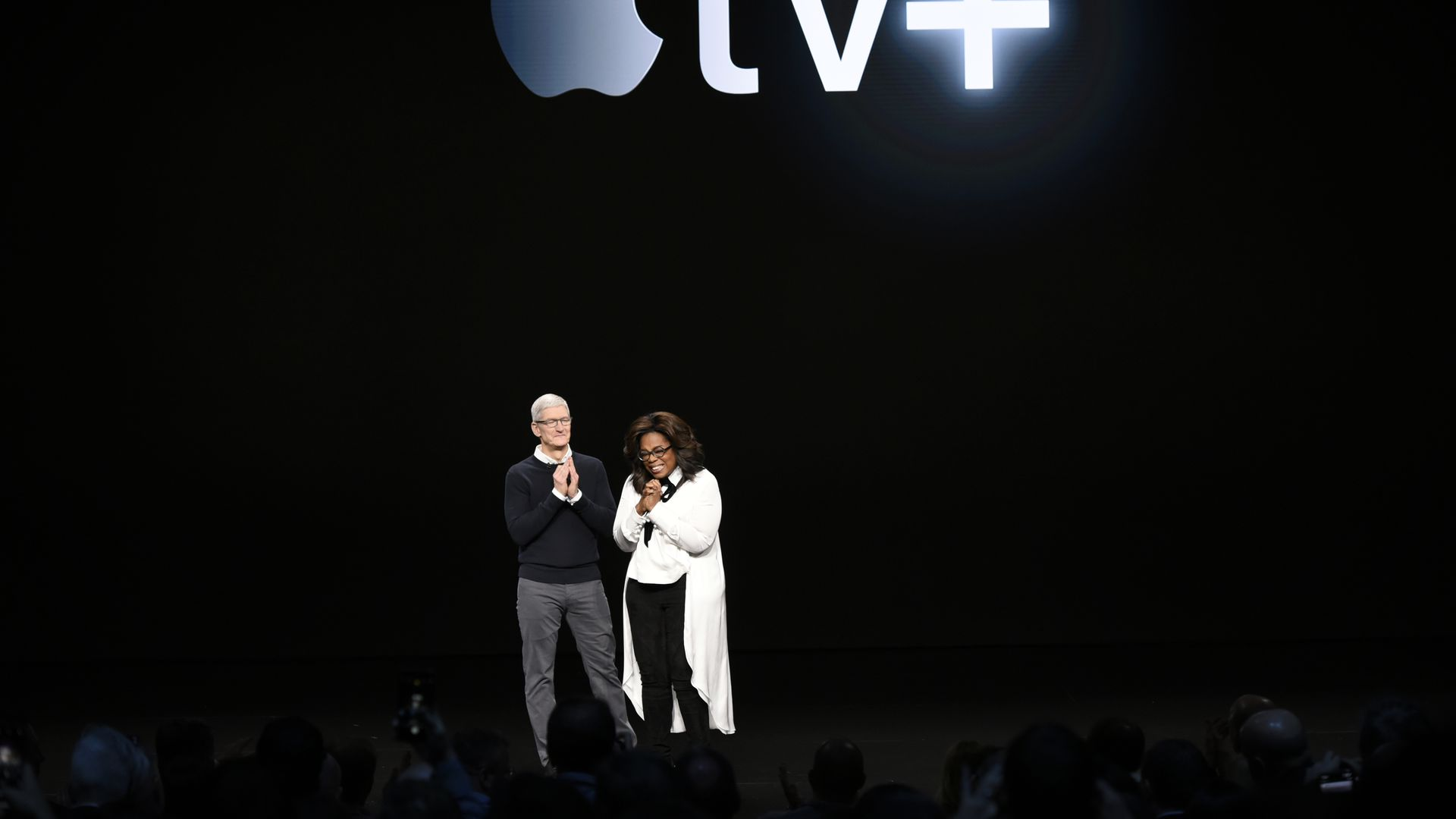 Apple unveils media strategy with fanfare but few details