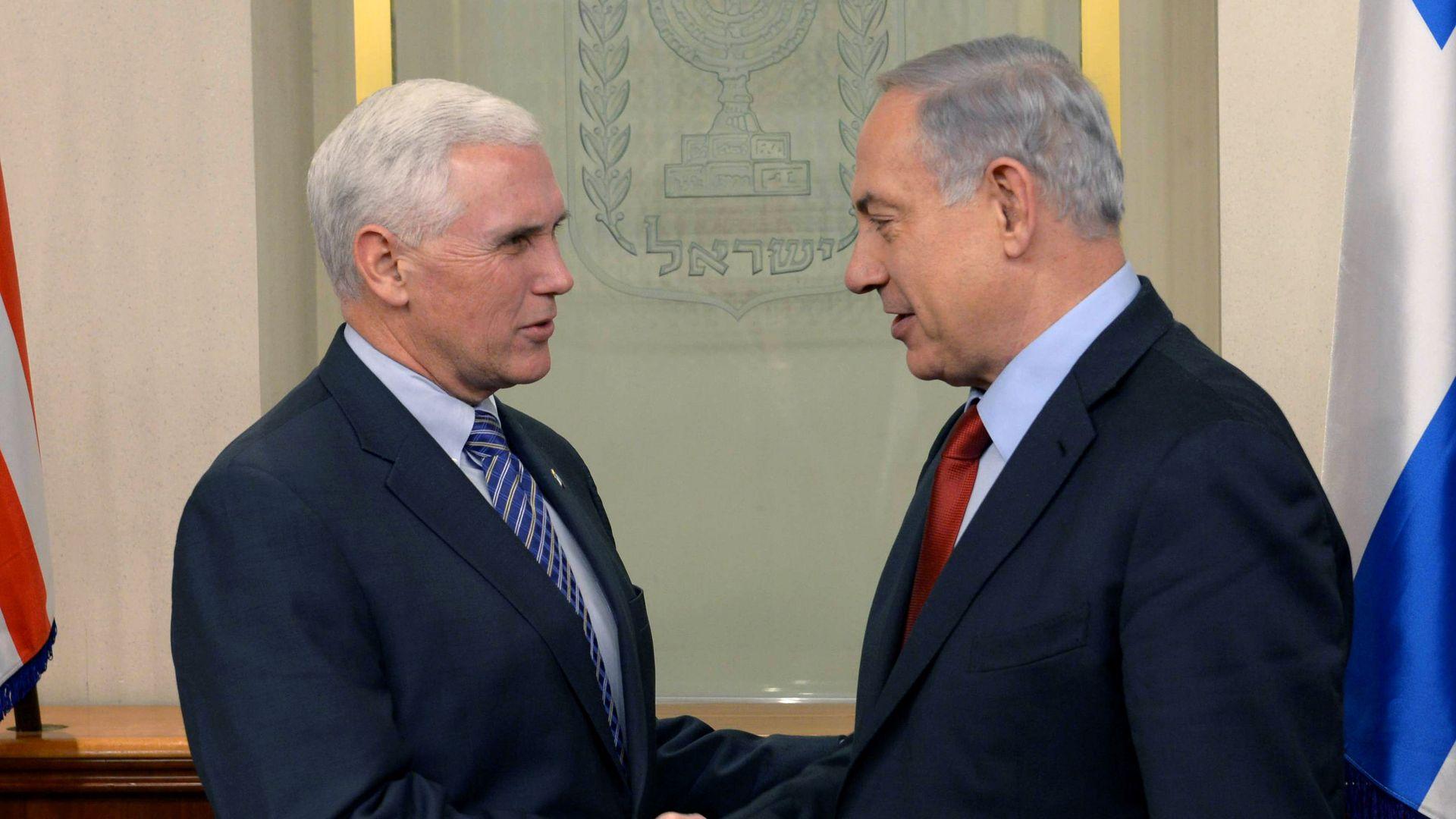 Pence meets Netanyahu