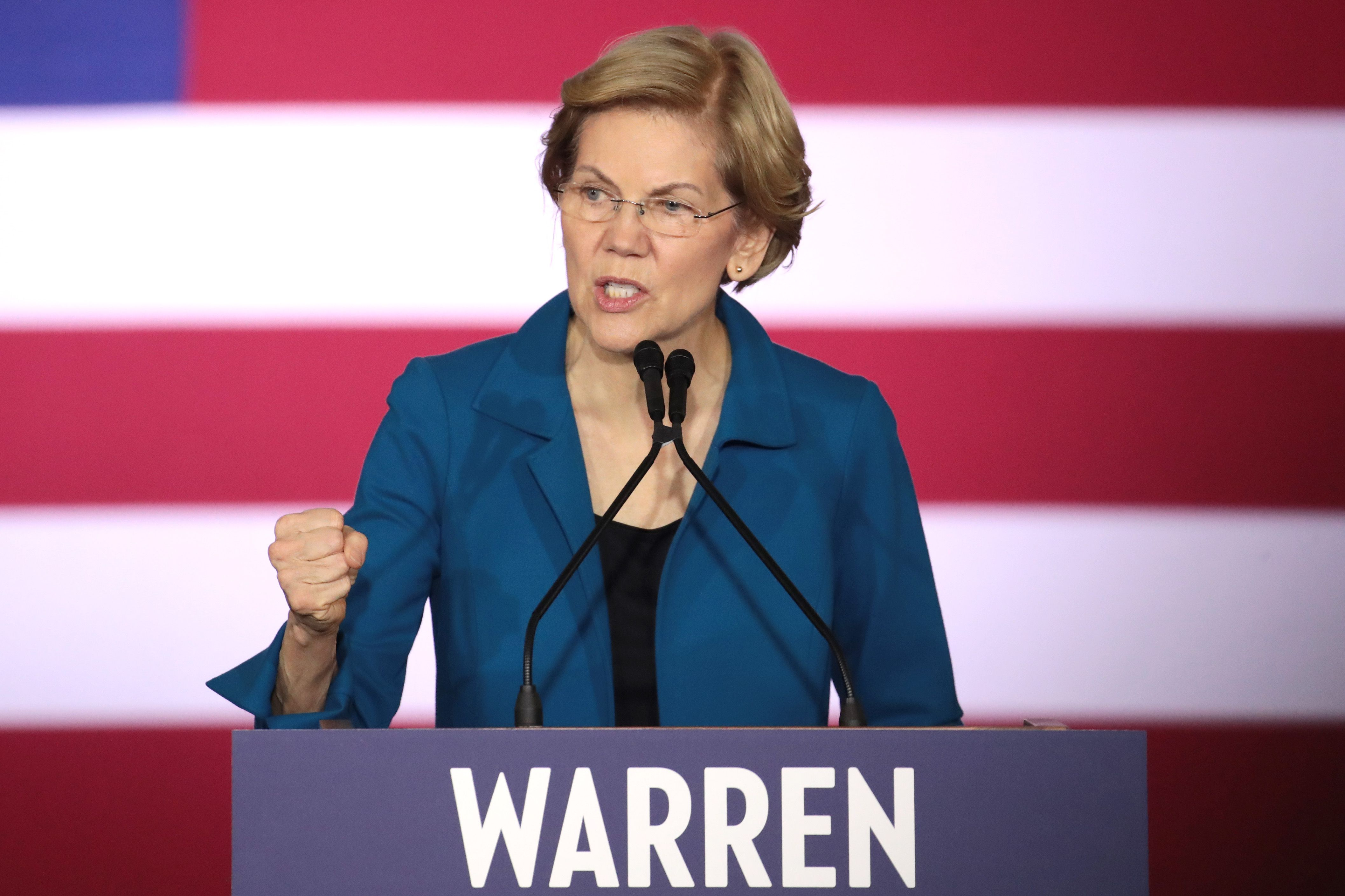 Warren: Barr should resign or face impeachment - Axios
