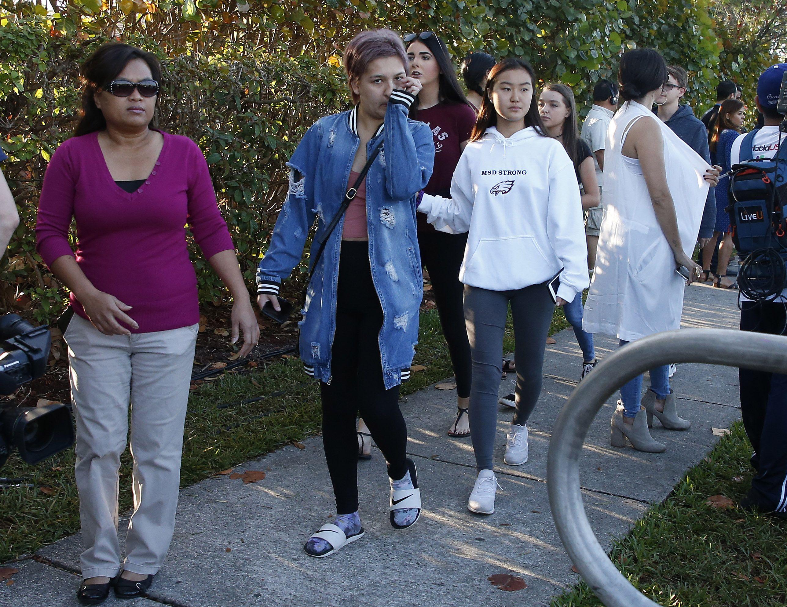 Student walks