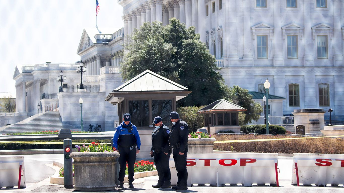 "Capitol police ""struggling"" after second attack, union chief says thumbnail"