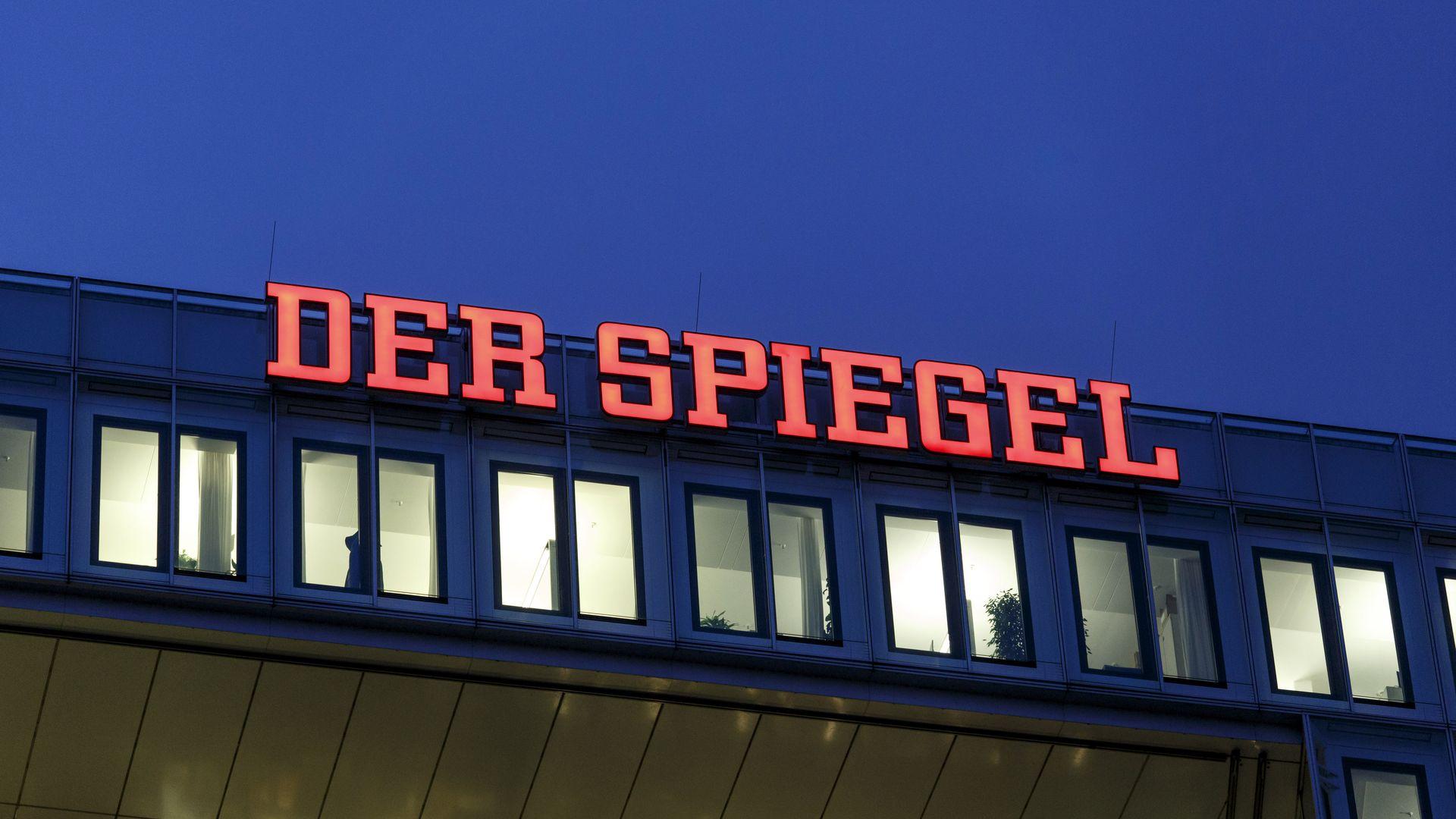 Front of Der Spiegel