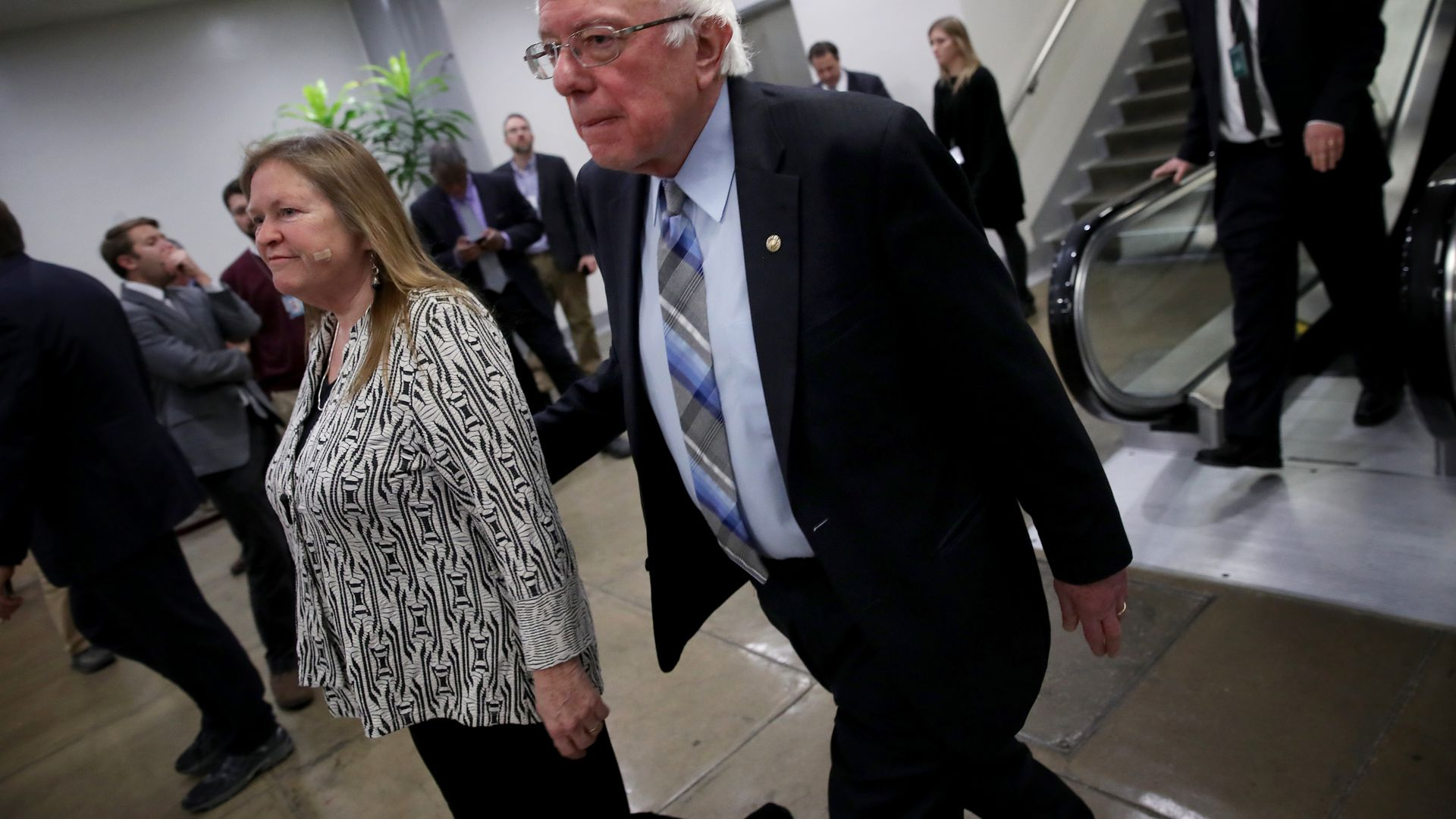 Sanders' nonprofit suspends operations amid scrutiny for lack of transparency