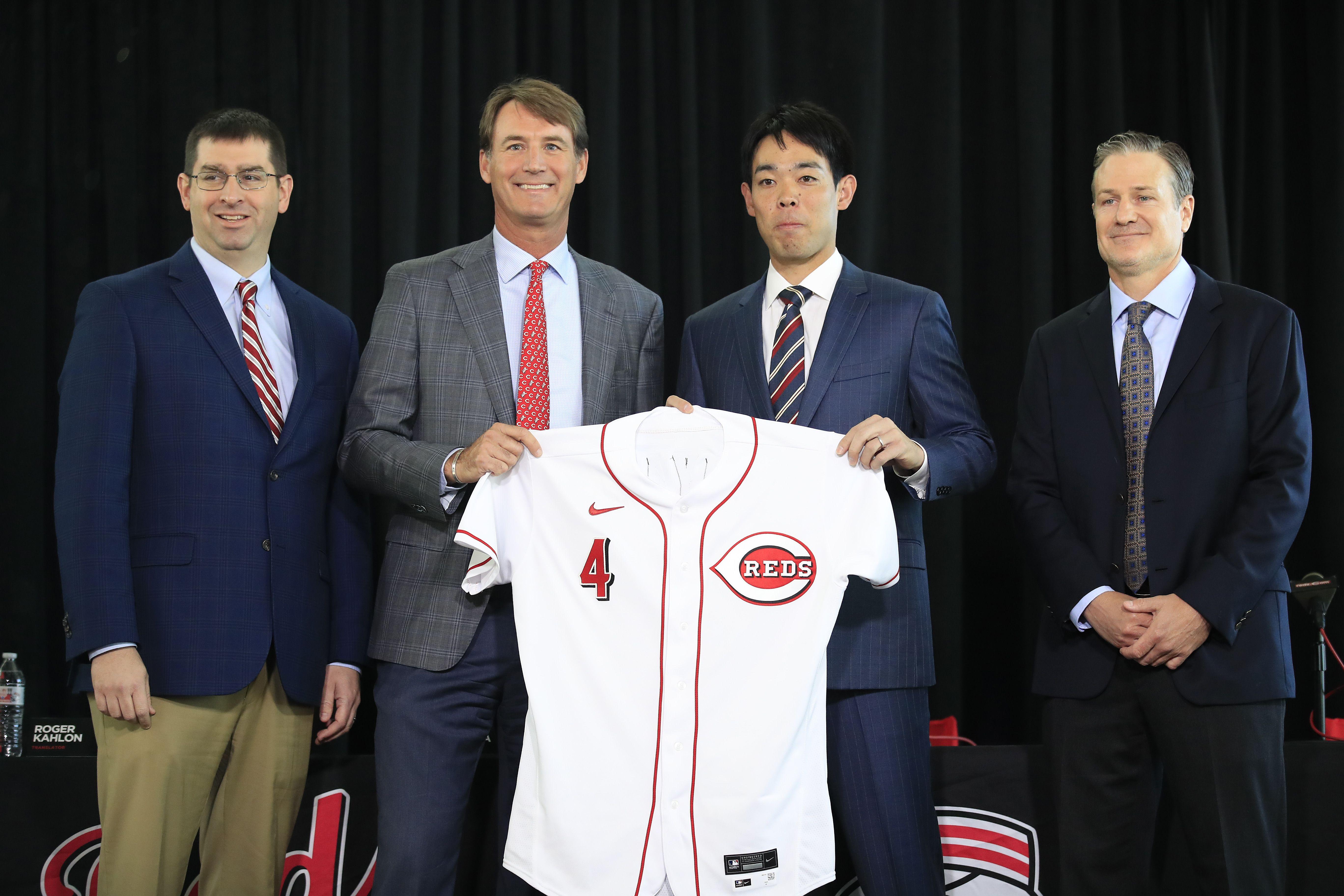 Shogo Akiyama introduction press conference