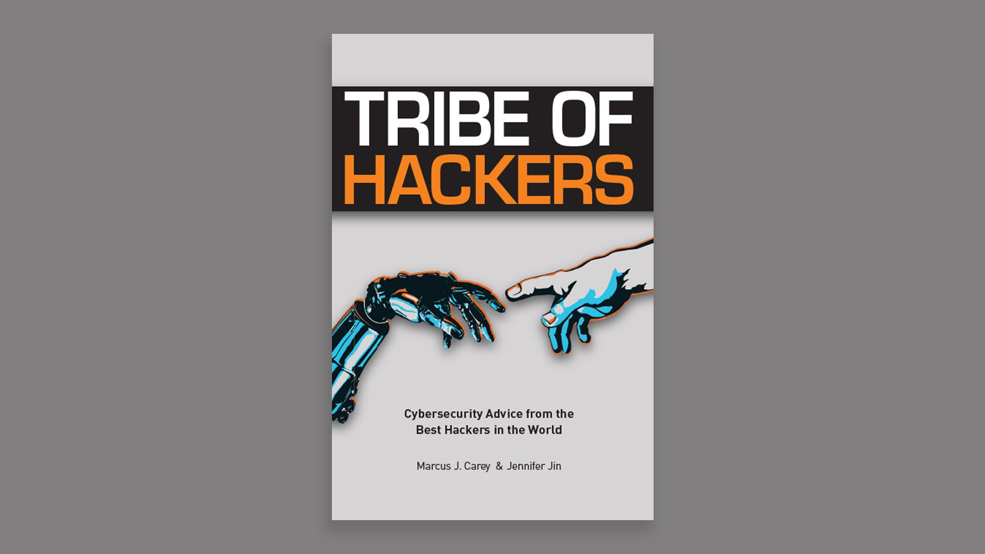Photo of Tribe of Hackers book cover.
